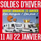 Soldes d\'hiver camping-cars