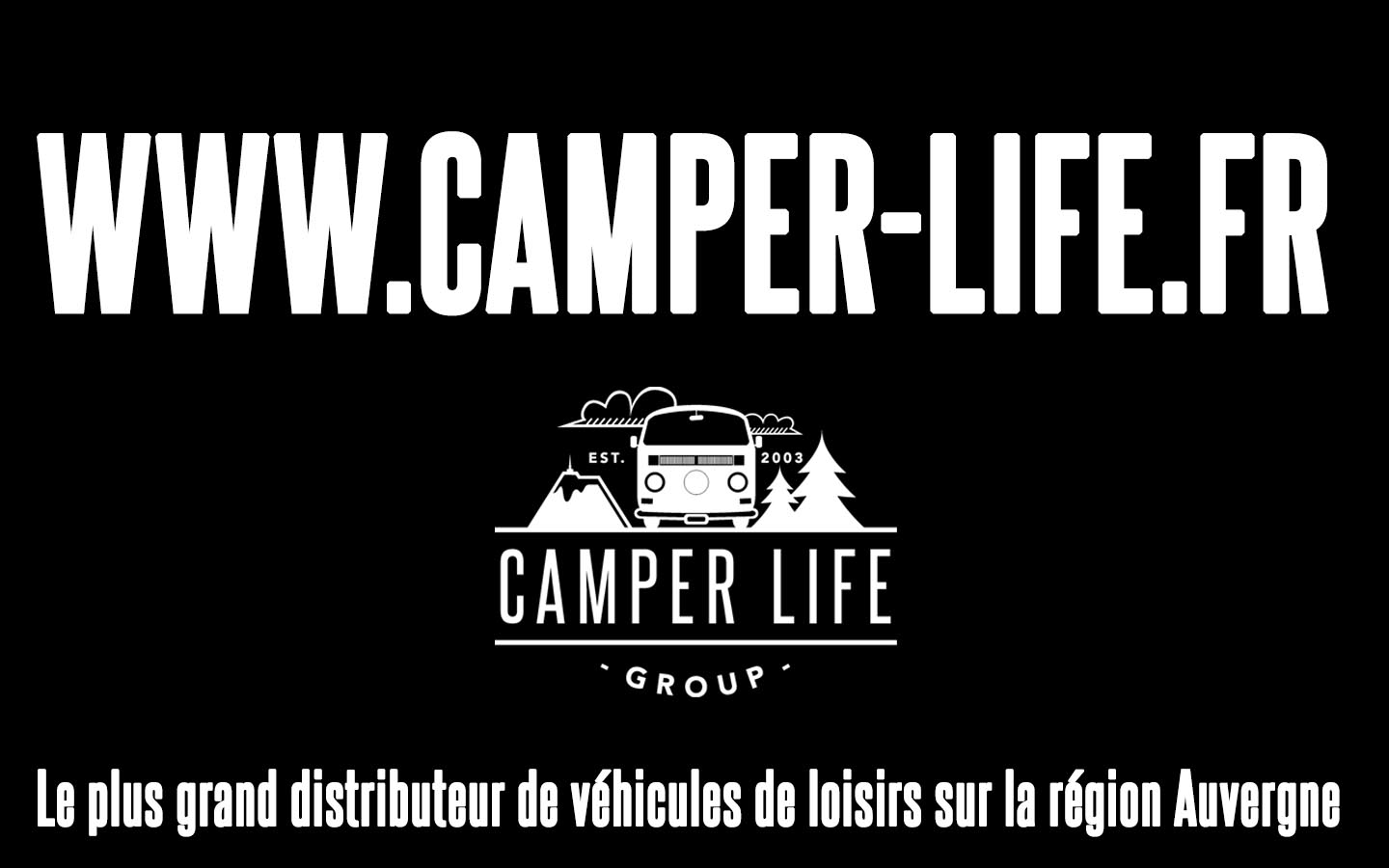 Nouveau site internet Camper Life Group