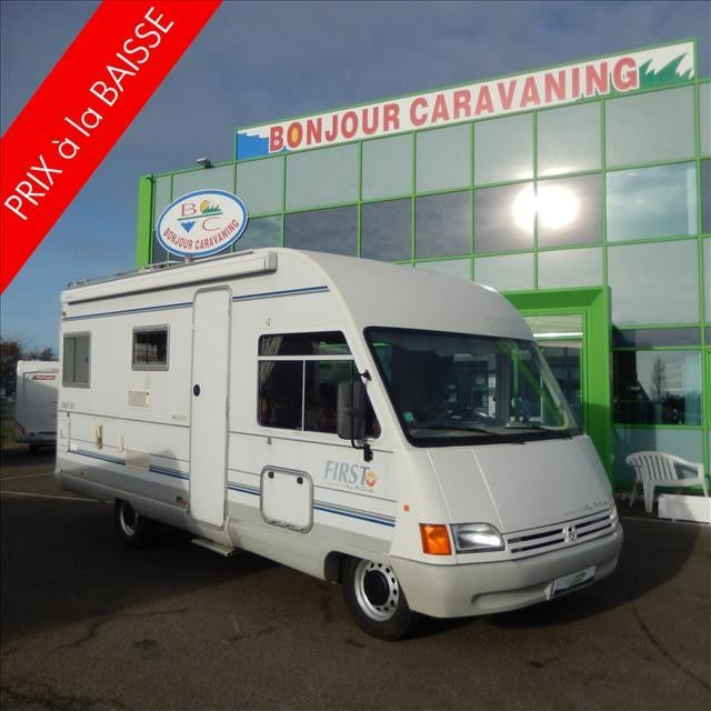 Camping-car PILOTE FIRST 81 FORD 2.5L TD