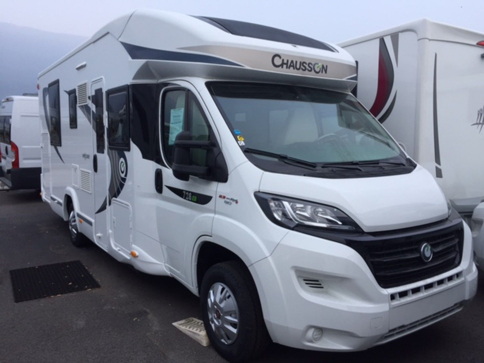 Camping-car CHAUSSON WELCOME 728