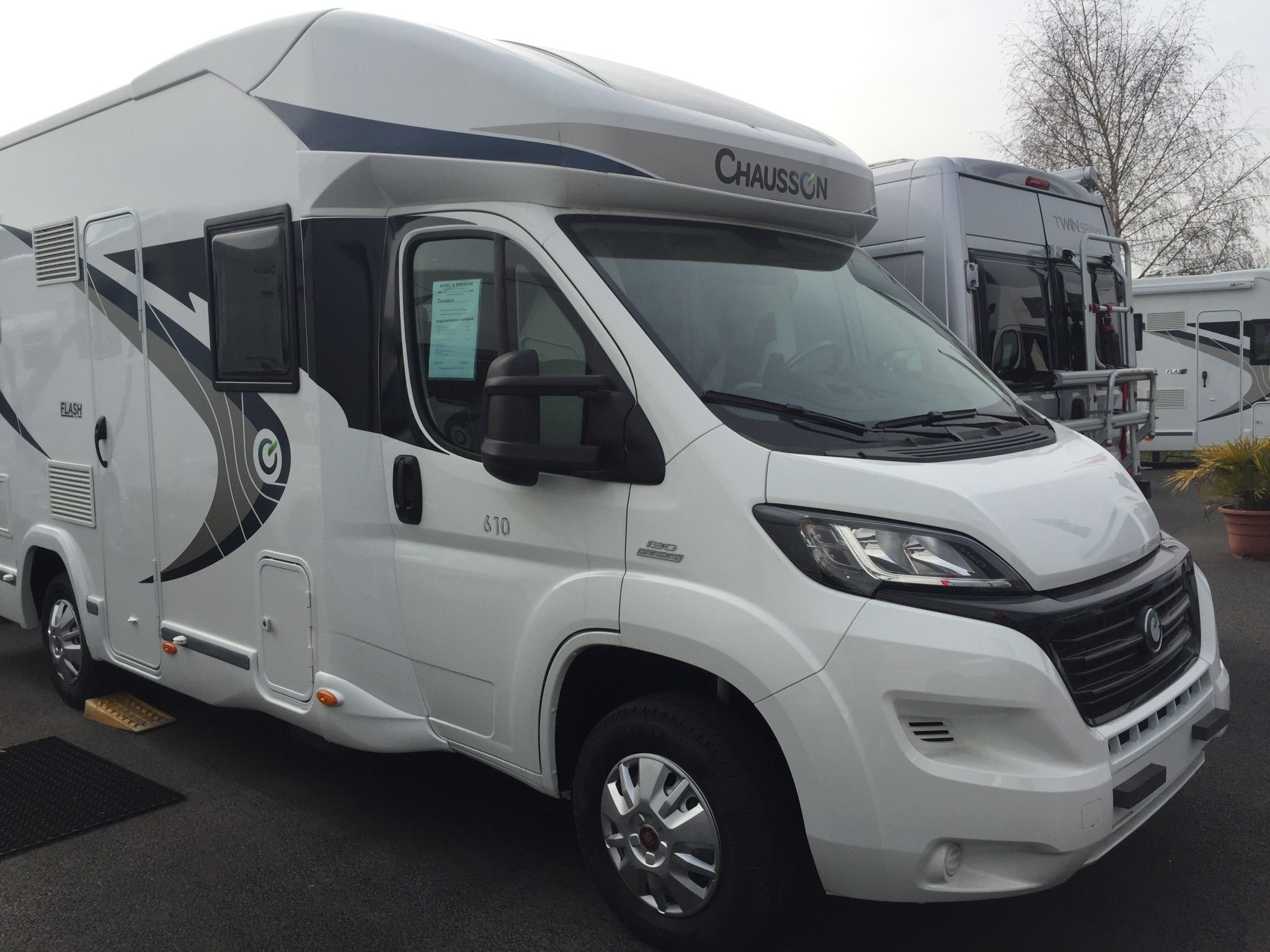 Camping-car CHAUSSON FLASH 610