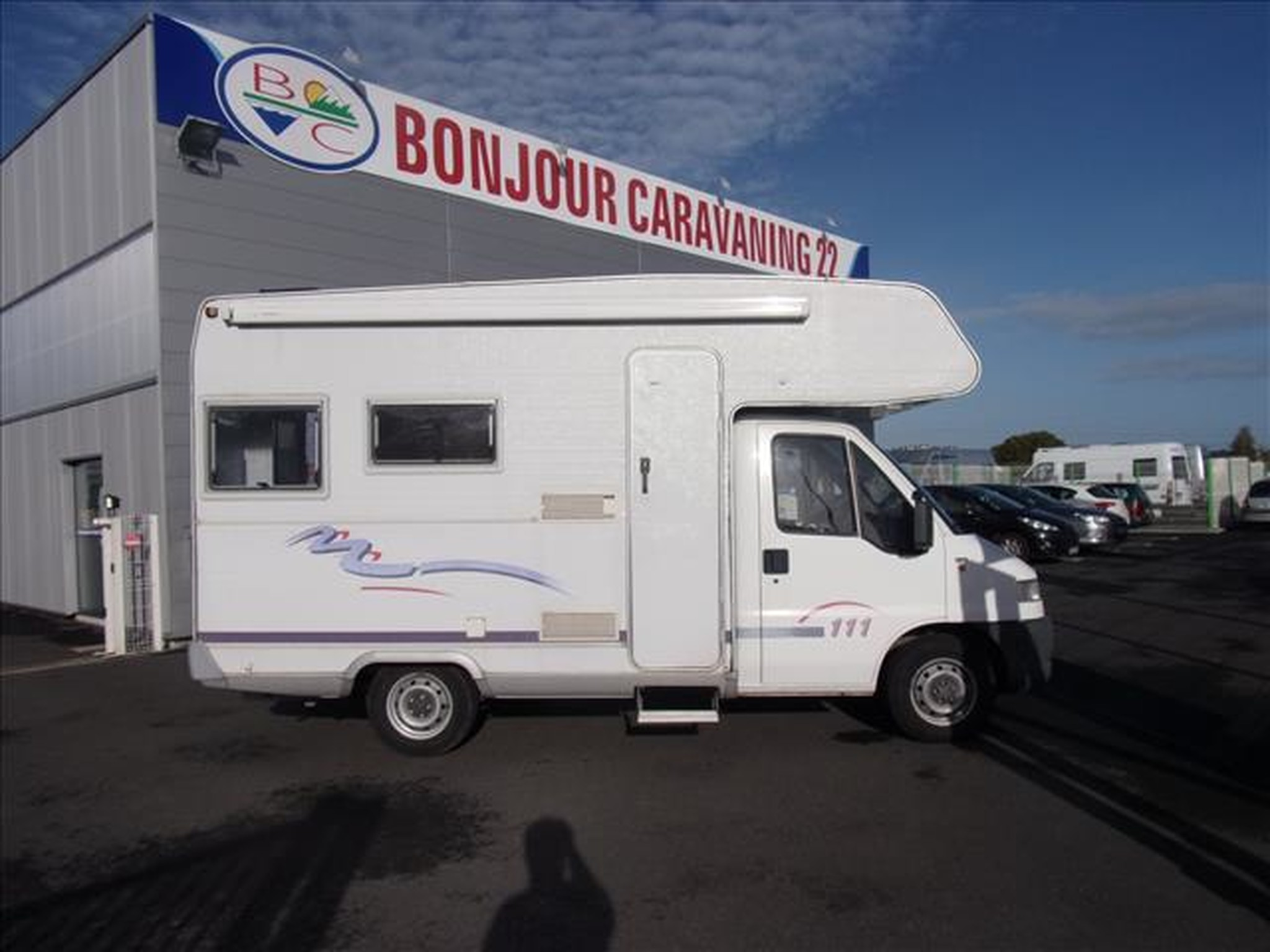 Camping-car CHALLENGER 111 FIAT DUCATO
