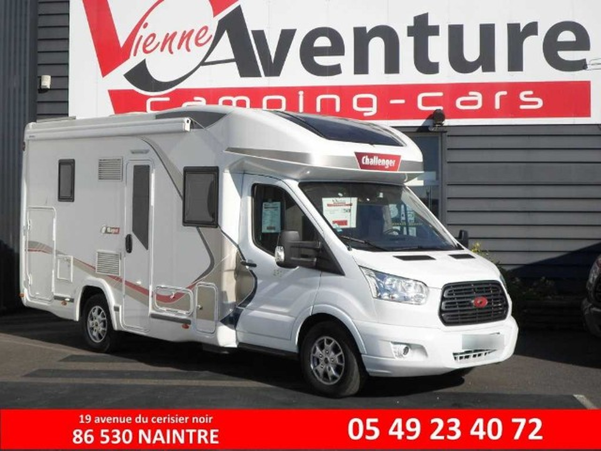 Camping-car CHALLENGER MAGEO 290 .