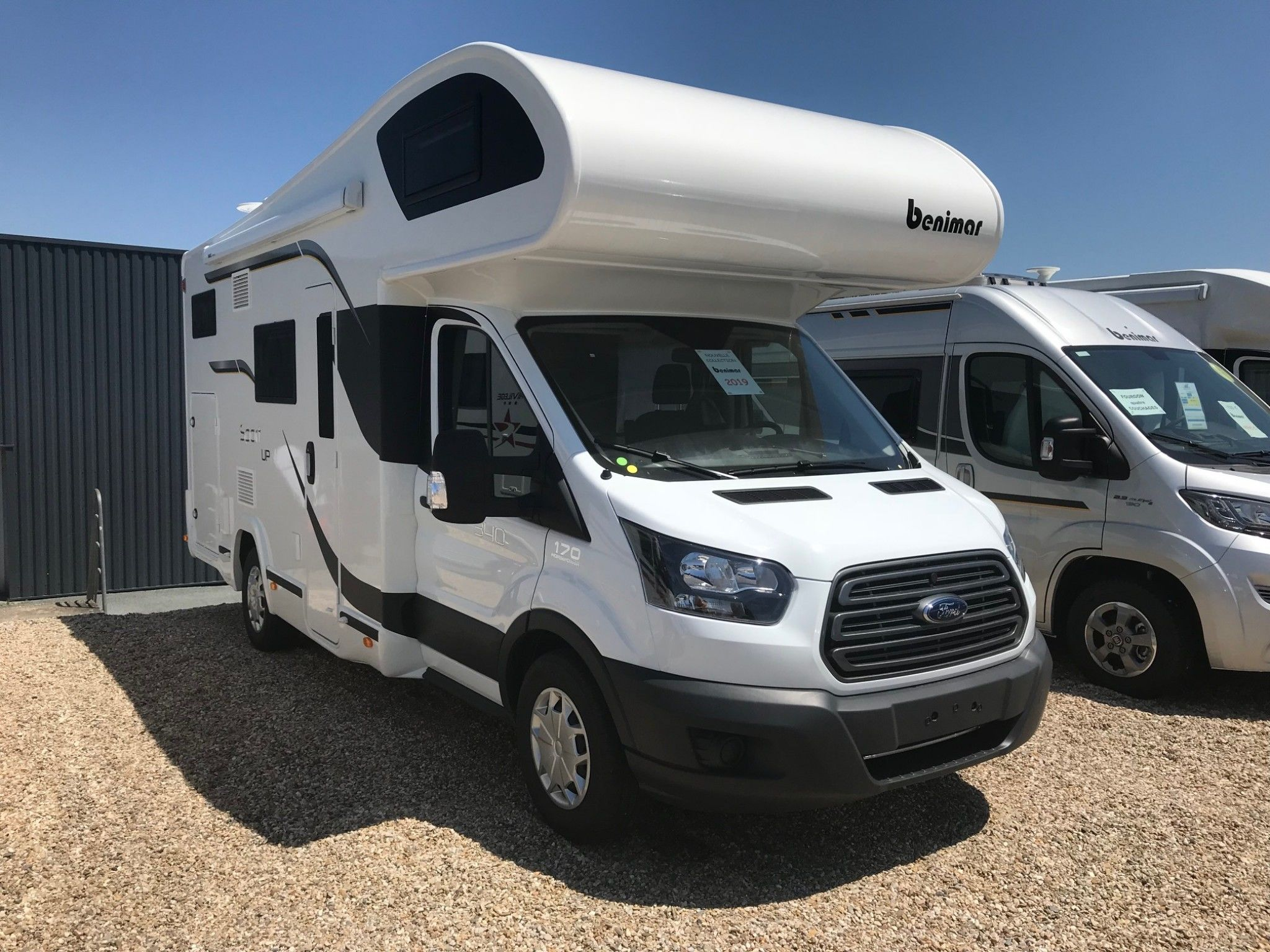 Camping-car BENIMAR SPORT 340 UP