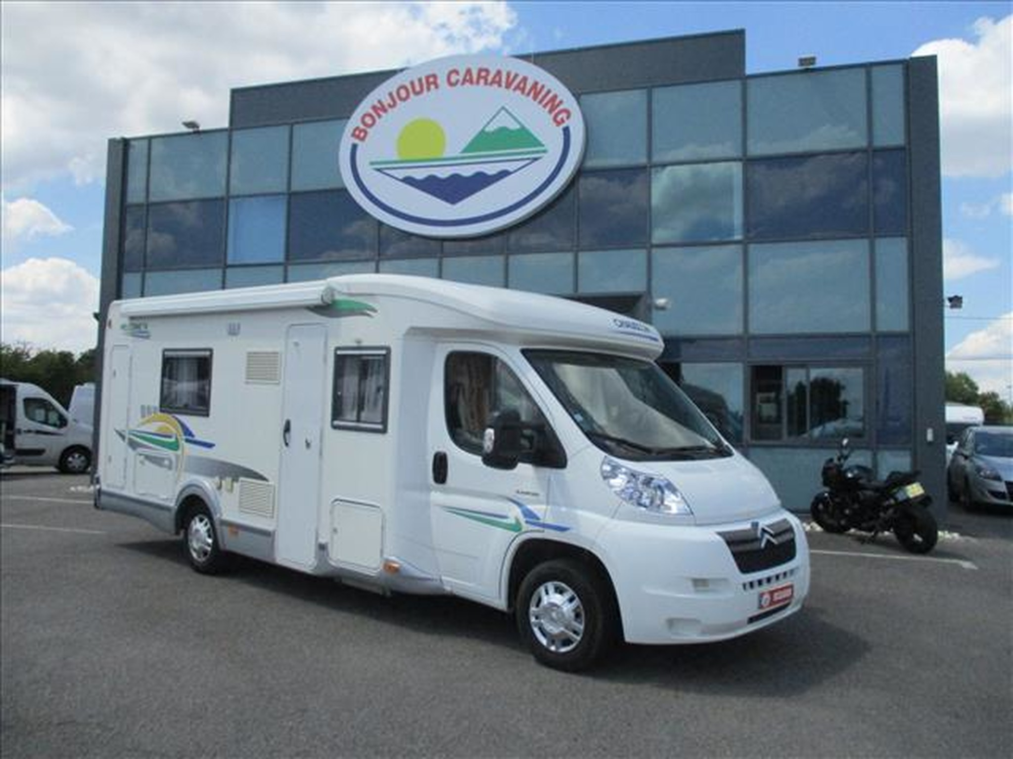 Camping-car CHAUSSON WELCOME 76 CITROEN JUMPER 2.2L HDI 130CV