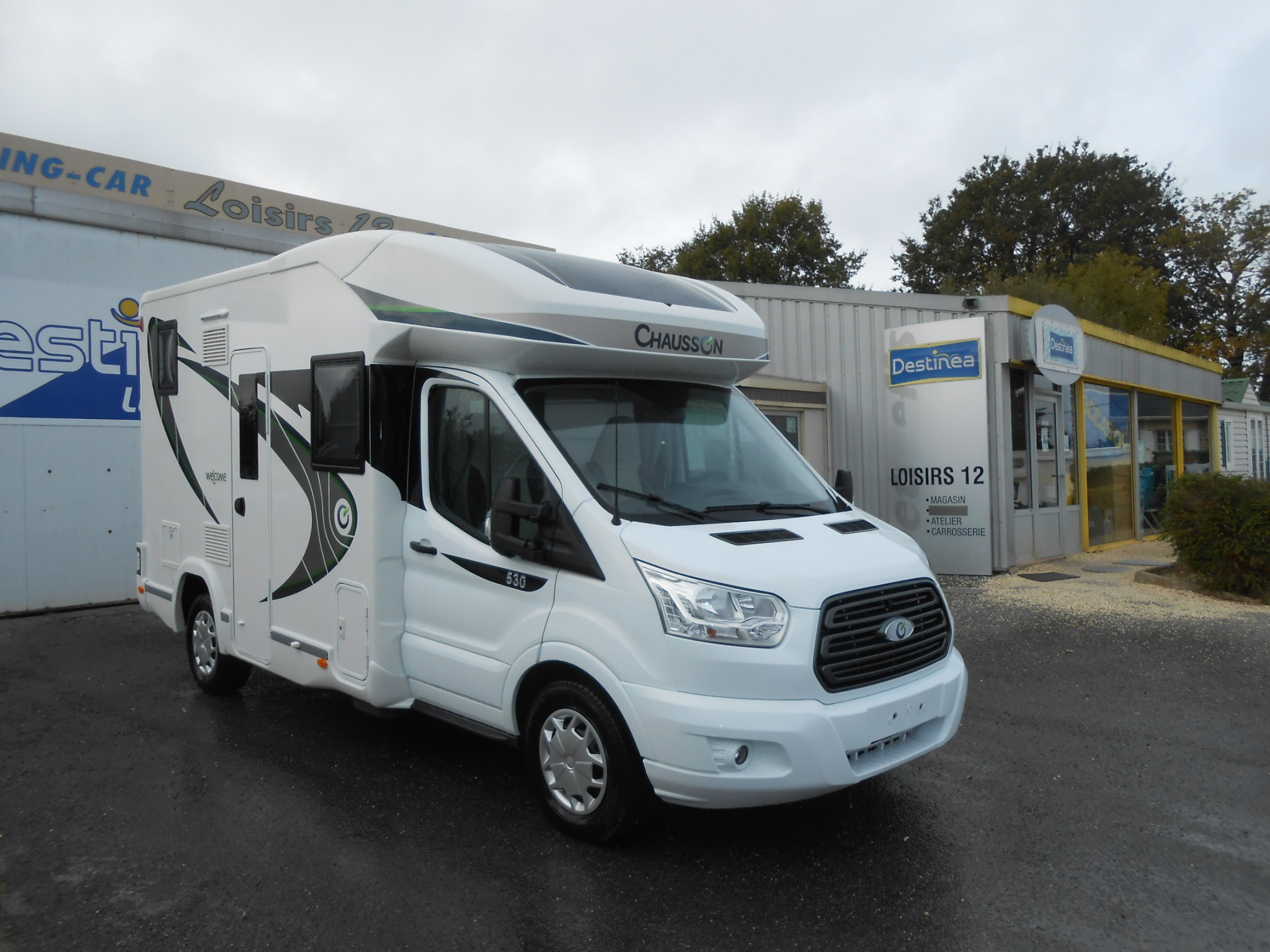 Camping-car CHAUSSON WELCOME 530