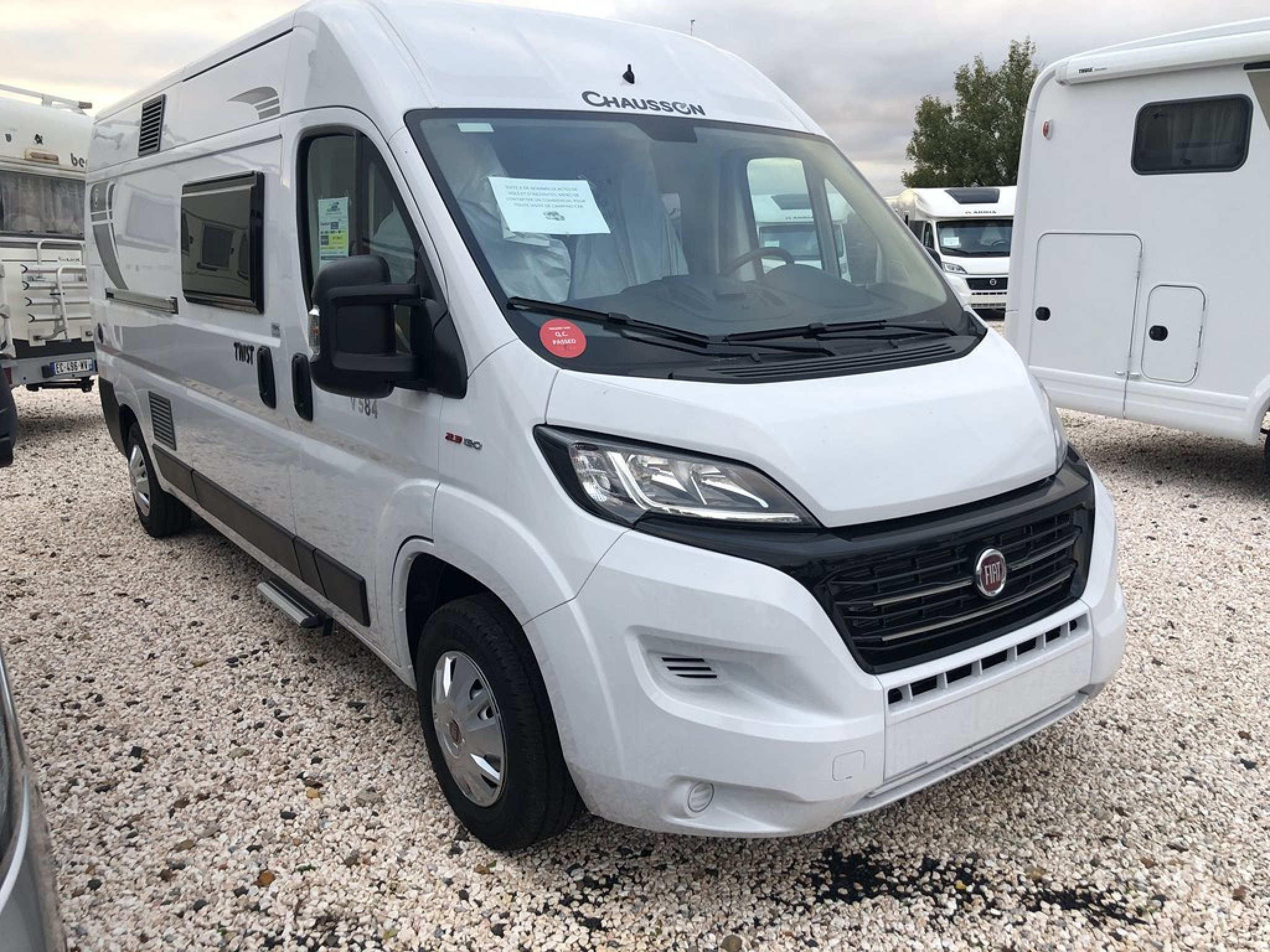 Camping-car CHAUSSON TWIST V 584