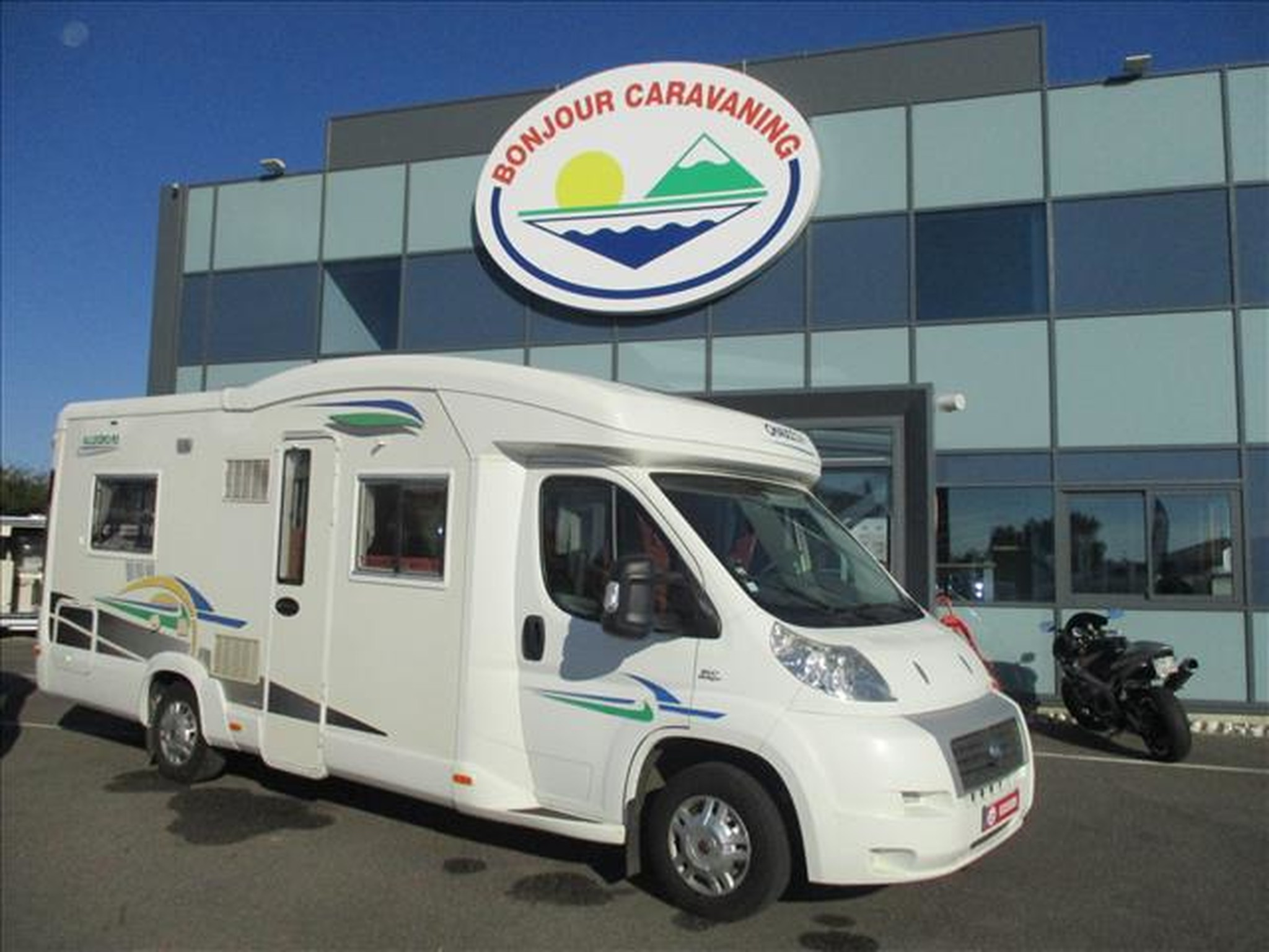 Camping-car CHAUSSON ALLEGRO 93 FIAT 3.0L 160 CH