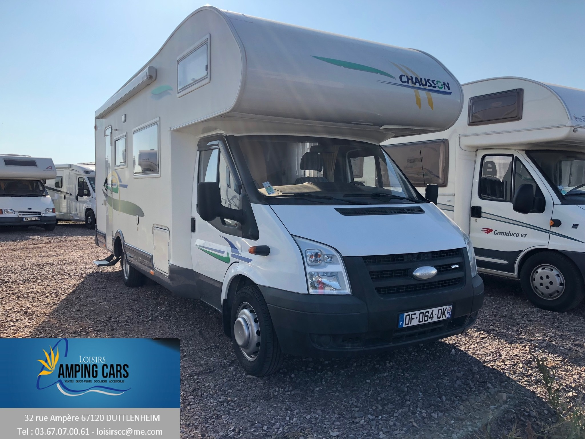 Camping-car CHAUSSON WELCOME 26