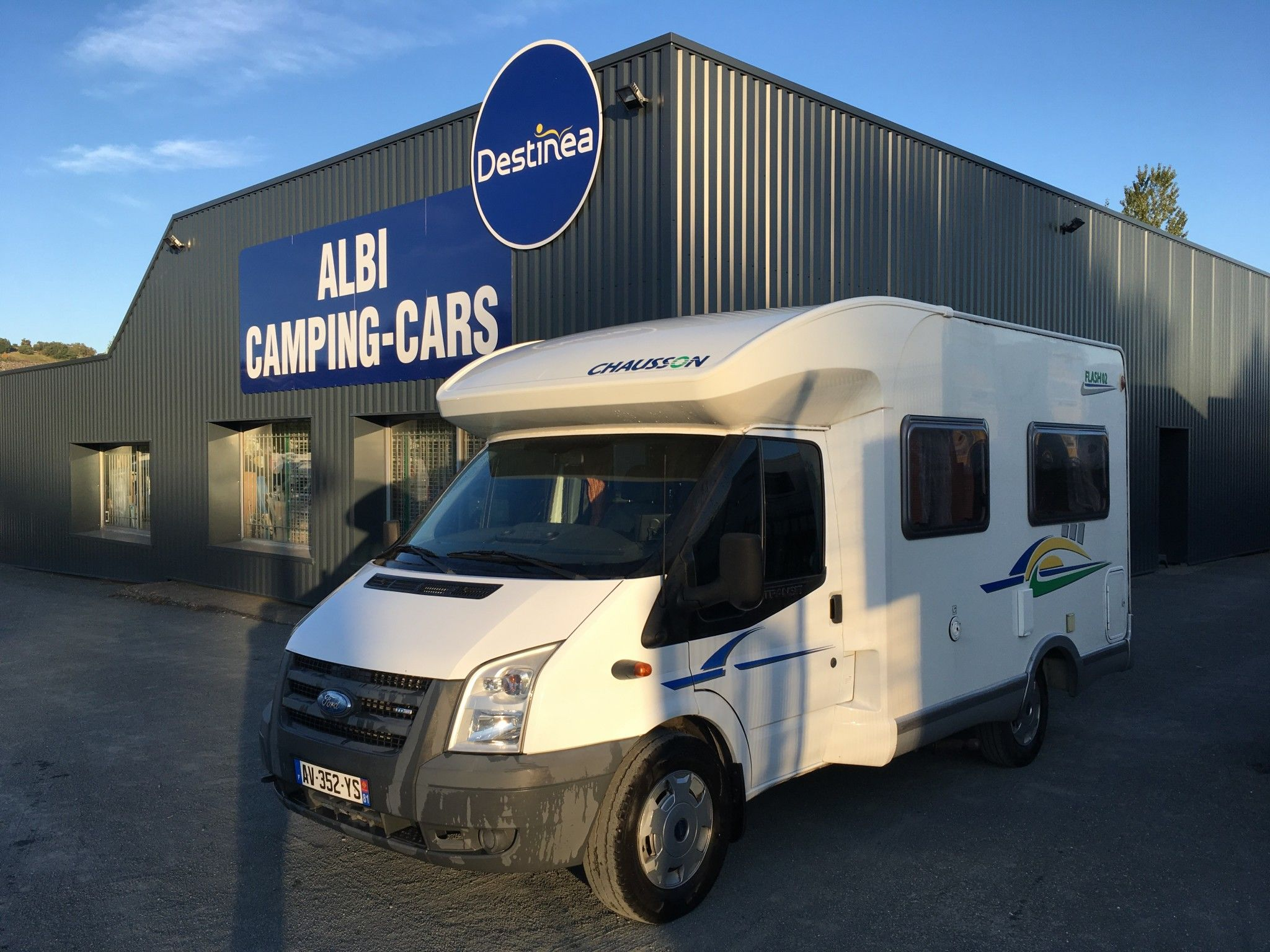 Camping-car CHAUSSON FLASH 02