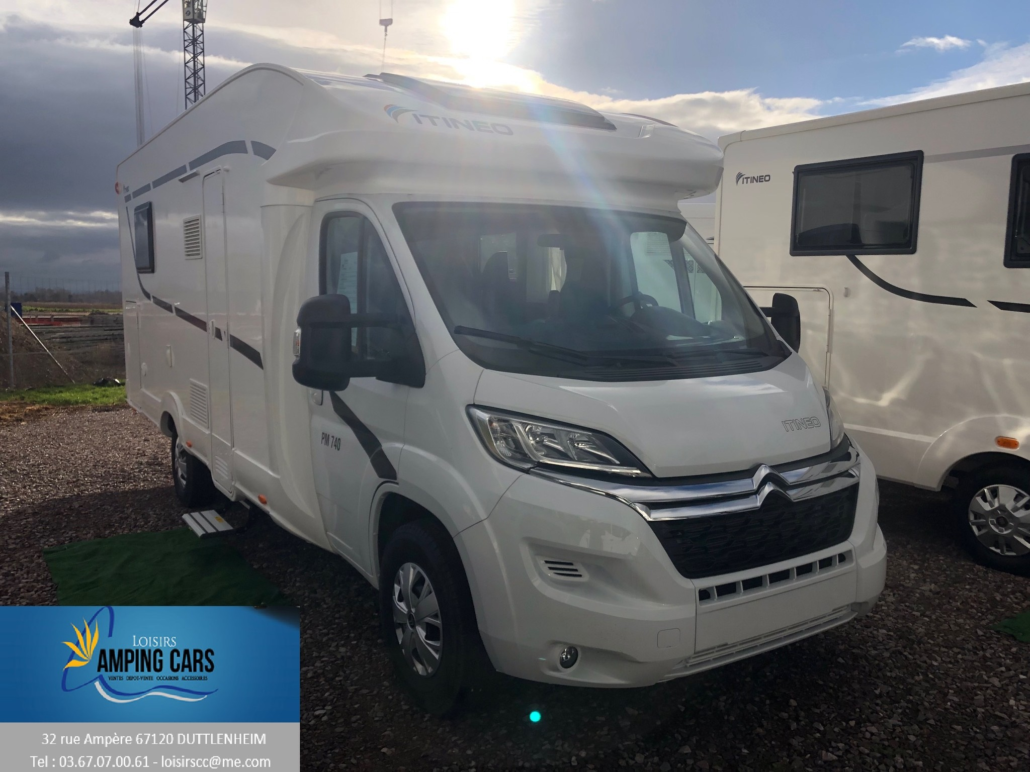 Camping-car ITINEO PM 740