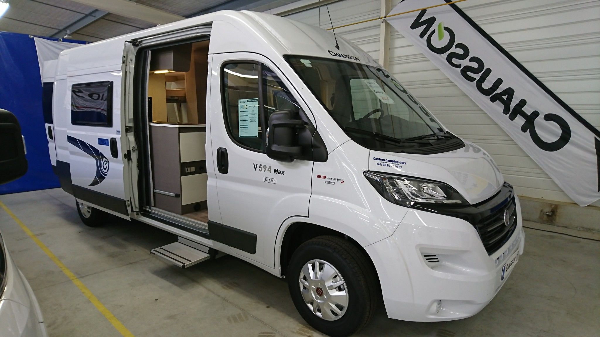 Camping-car CHAUSSON DÉSTOCKAGE V 594 MAX START PACK VIP