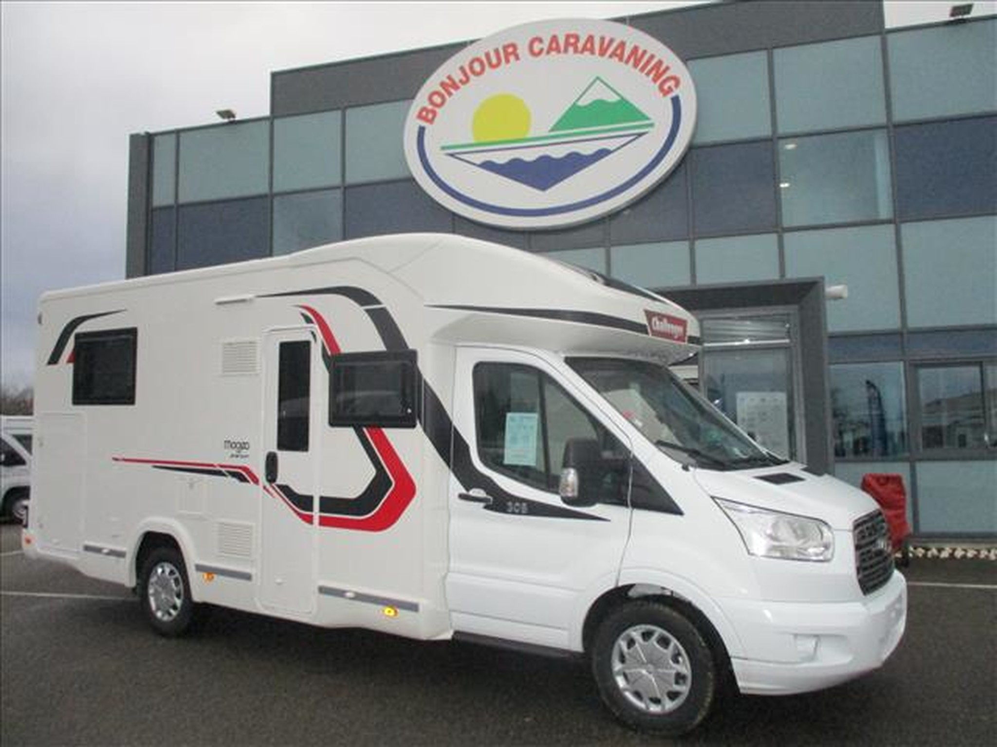 Camping-car CHALLENGER MAGEO 308 FORD TRANSIT 2.0 TDCI 170