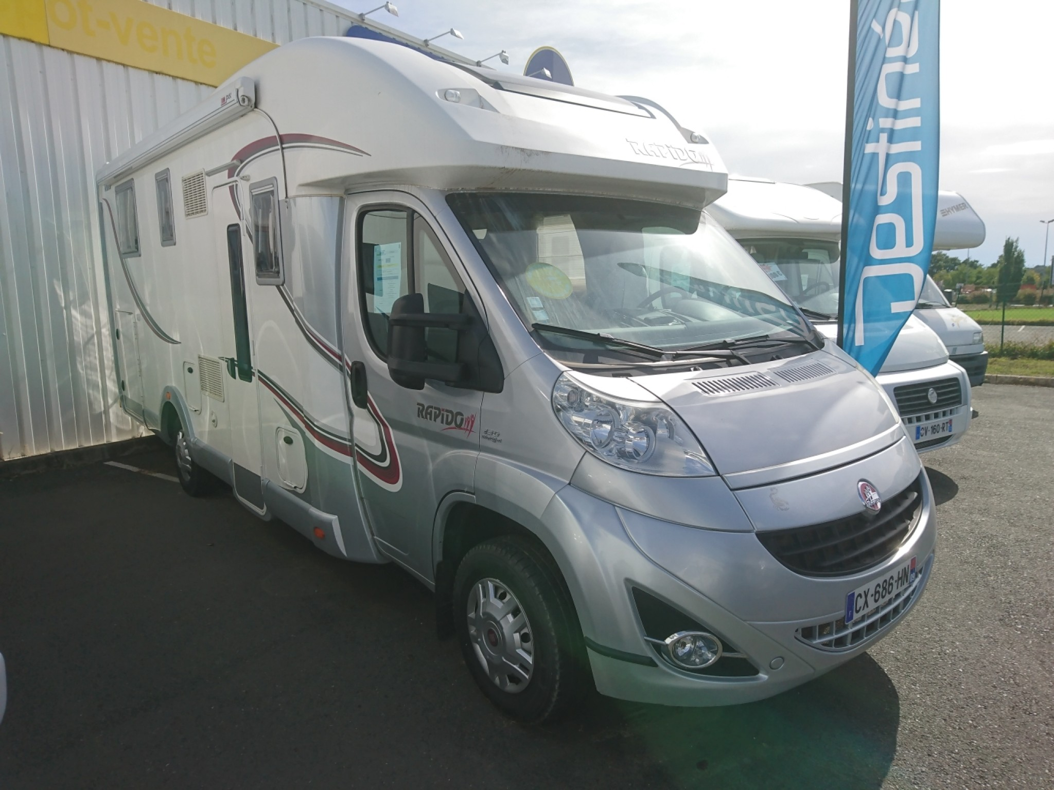 Camping-car RAPIDO 791 DF LIMITED