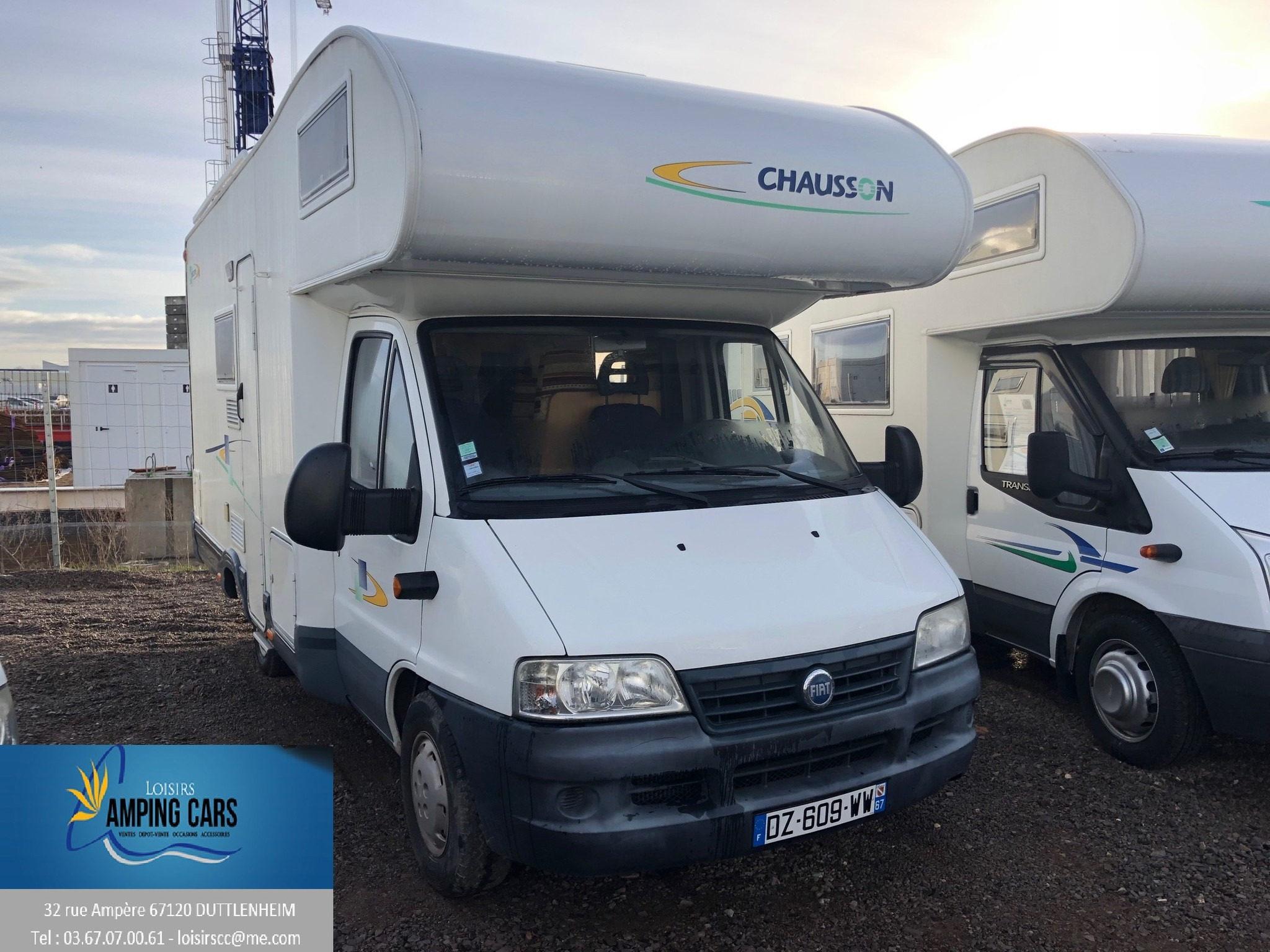 Camping-car CHAUSSON WELCOME 14