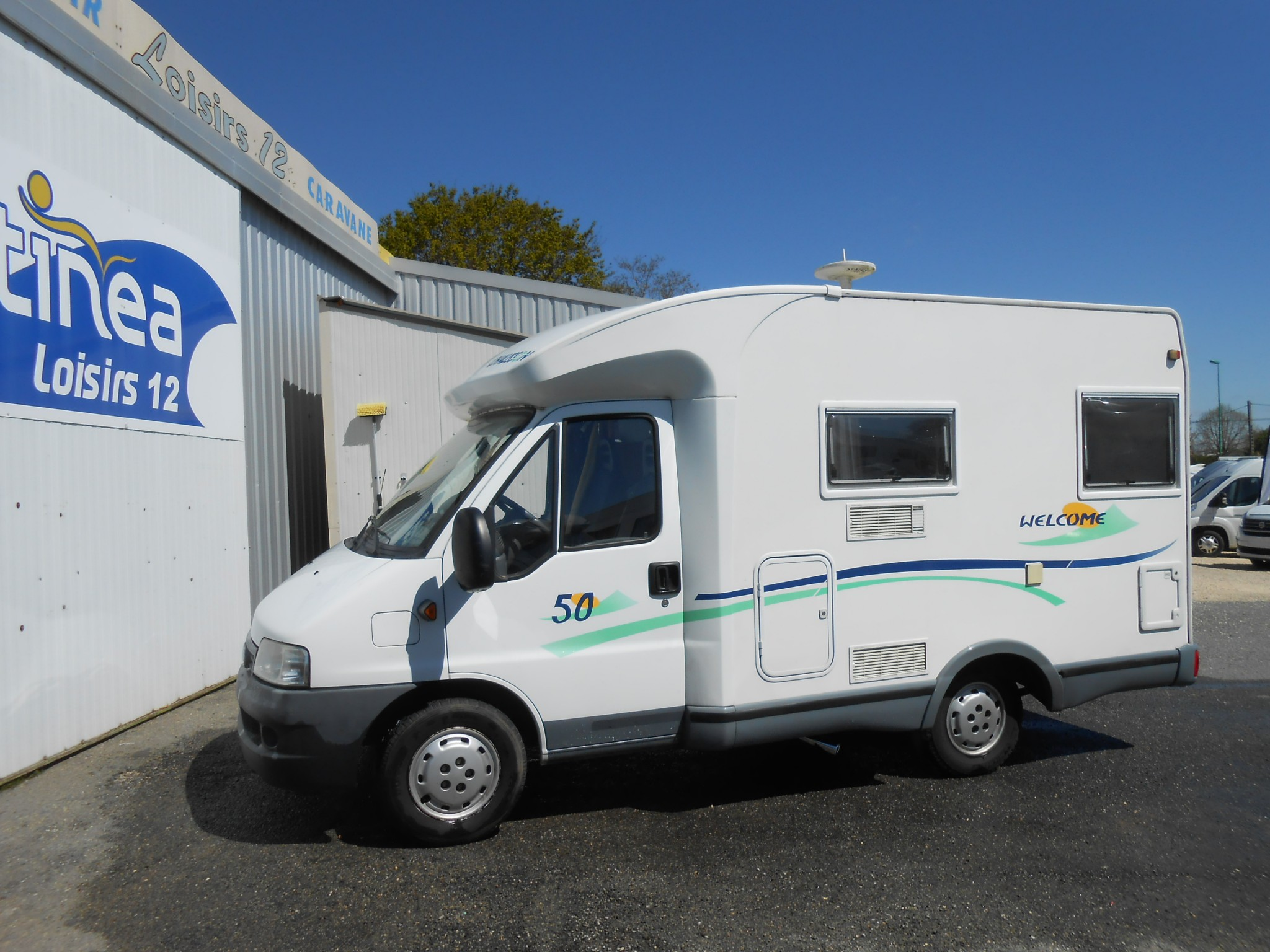 Camping-car CHAUSSON WELCOME 50