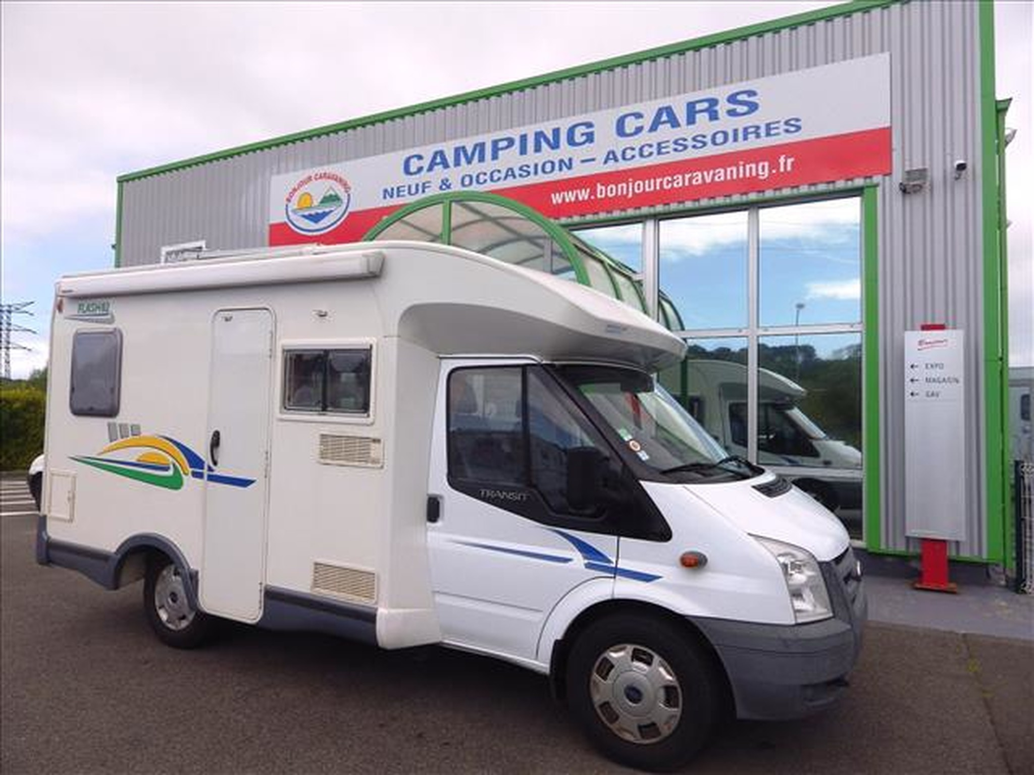 Camping-car CHAUSSON FLASH 02 FORD 2.2L