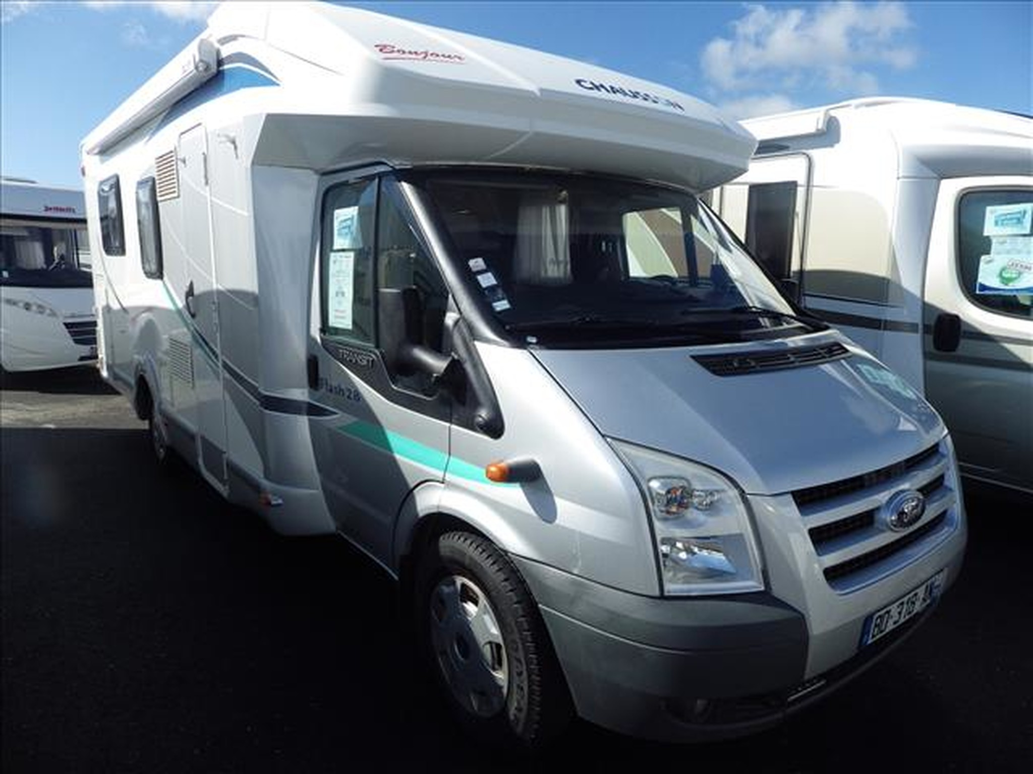 Camping-car CHAUSSON FLASH 28 FORD 2.2L TDCI 140CV