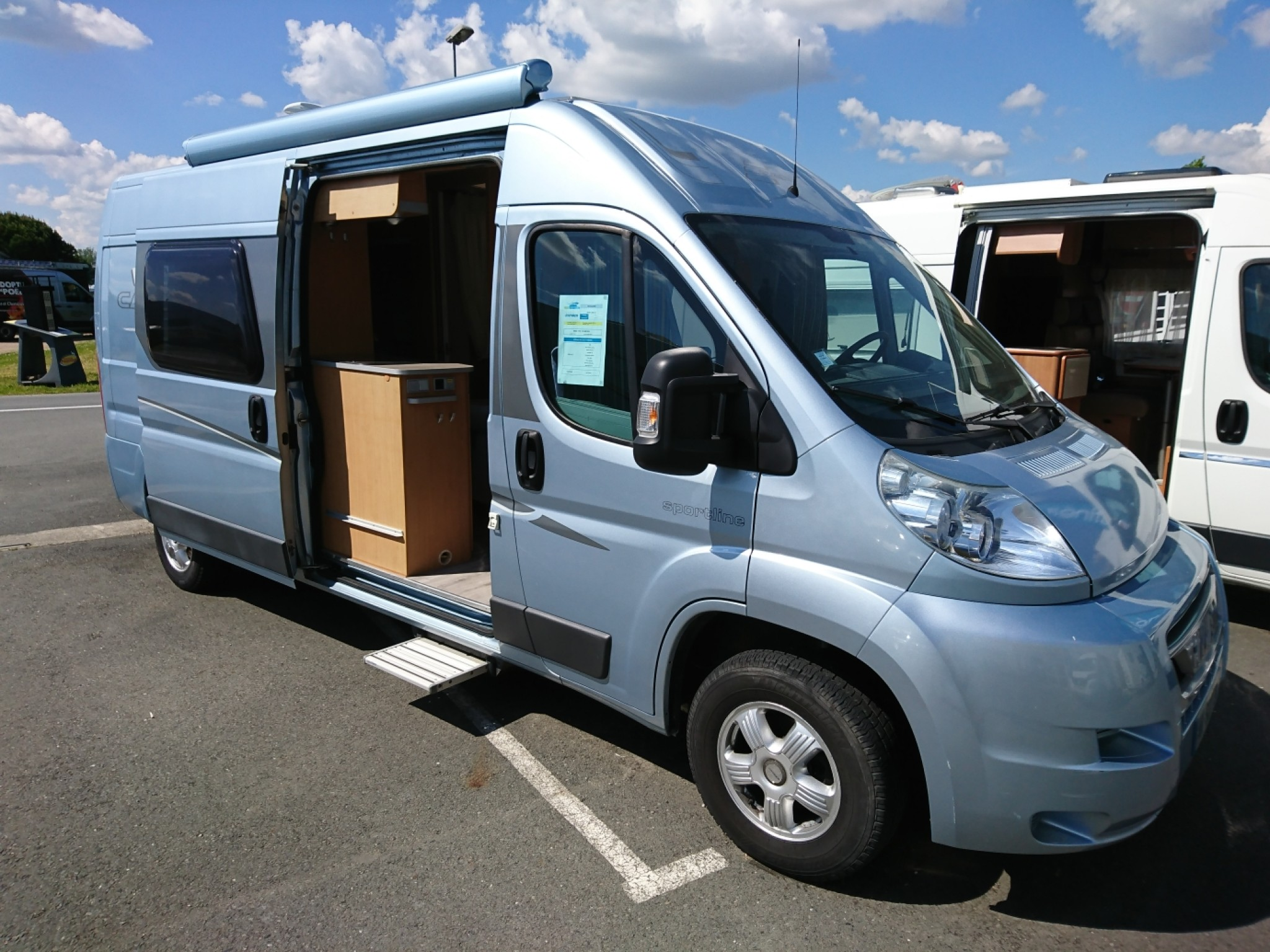 Camping-car HYMER SPORT LINE 322