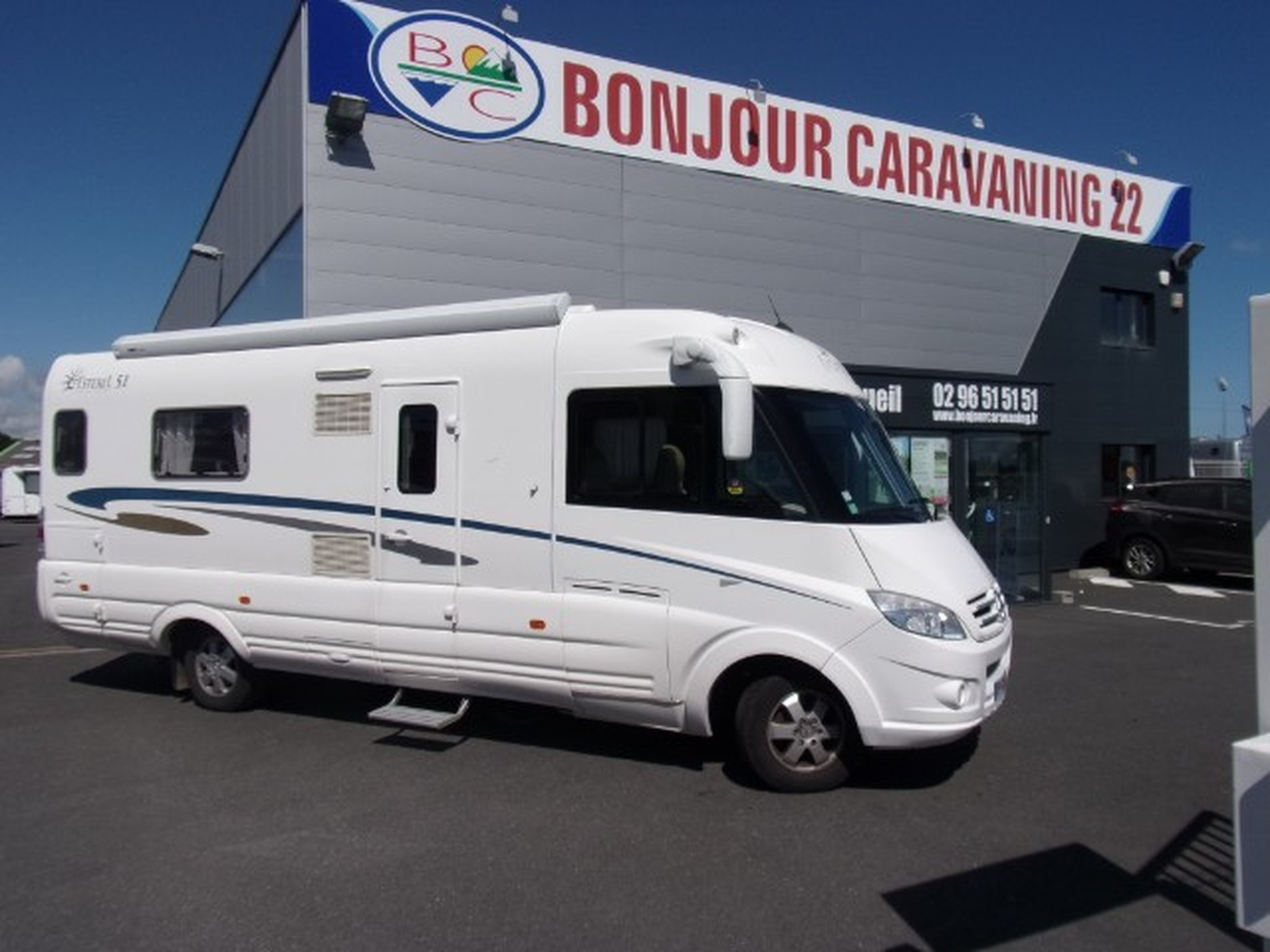 Camping-car ESTEREL 51 MERCEDES SPRINTER 2.2 CDI 150