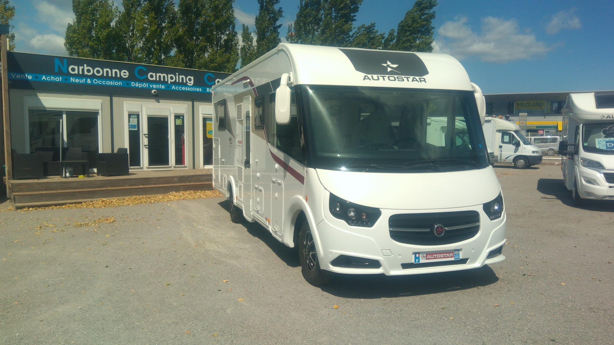Camping-car AUTOSTAR PASSION I 730 LCA CHASSIS ALKO DOUBLE PLANCHER