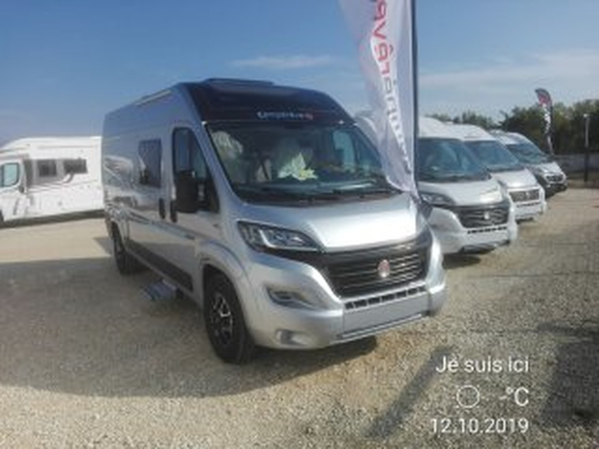 Camping-car CAMPEREVE Magellan 643 Limited