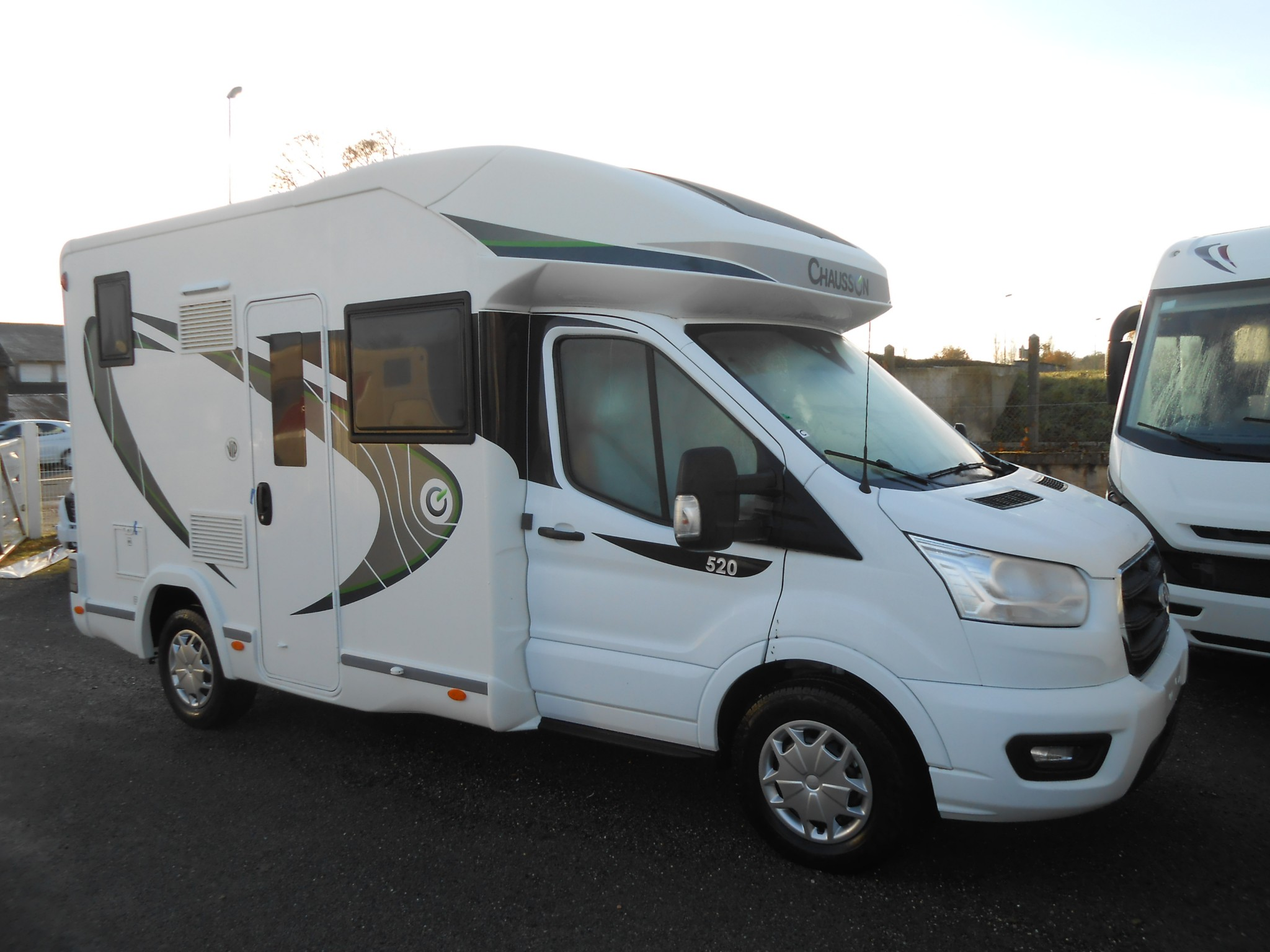 Camping-car CHAUSSON 520