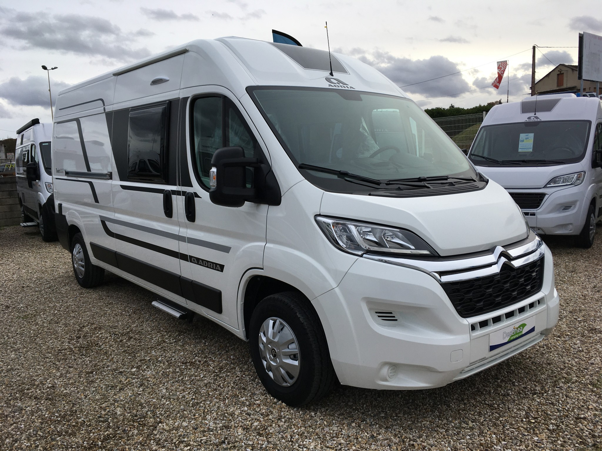 Camping-car ADRIA TWIN 600 SP FAMILY AXESS