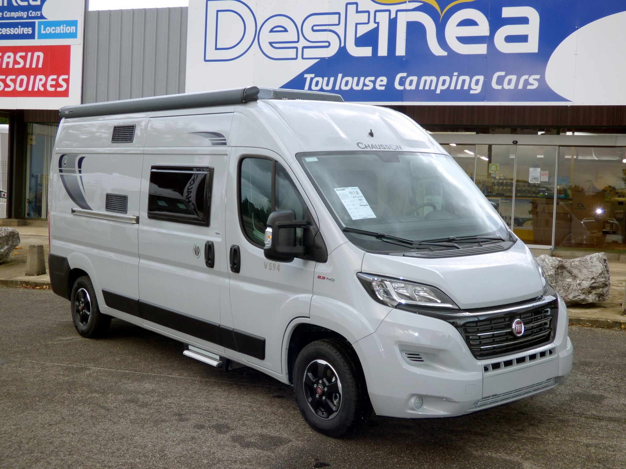 Camping-car CHAUSSON TWIST V594