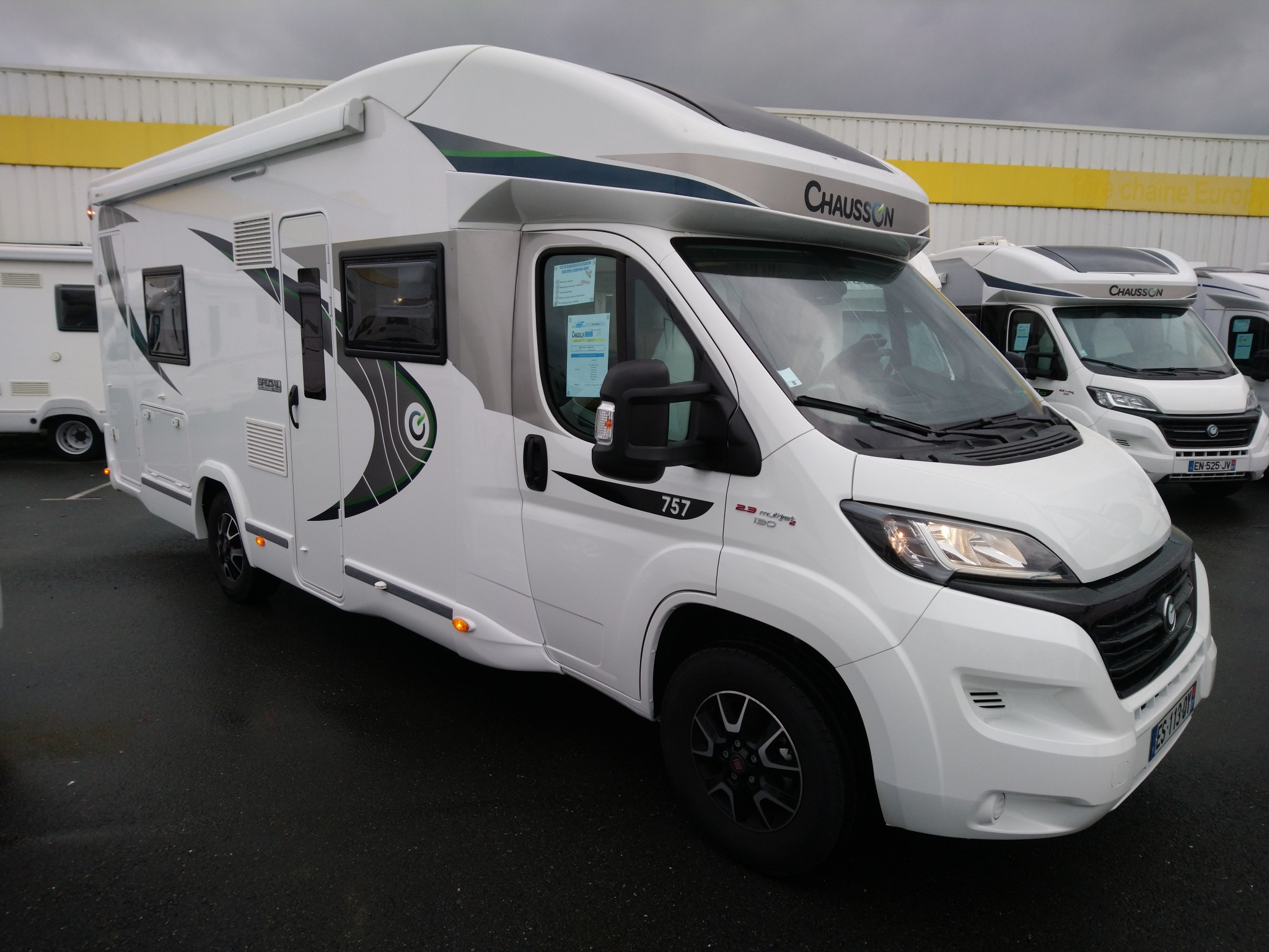 Camping-car CHAUSSON 757 SPECIAL EDITION