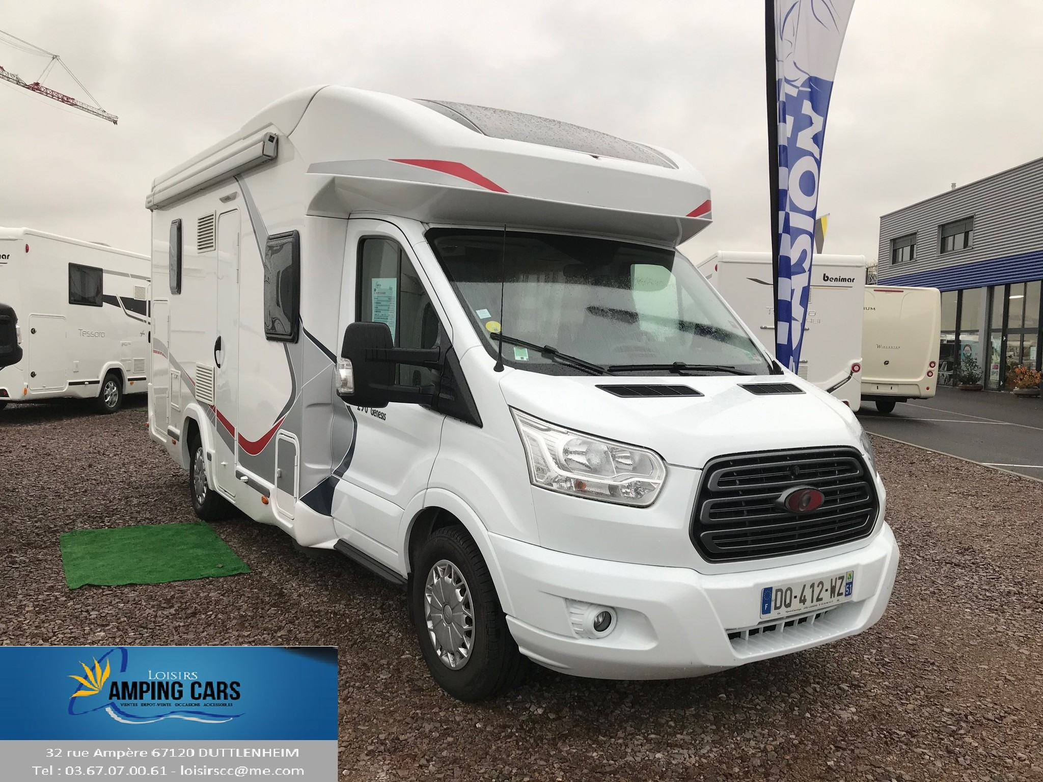 Camping-car CHALLENGER GENIS 290
