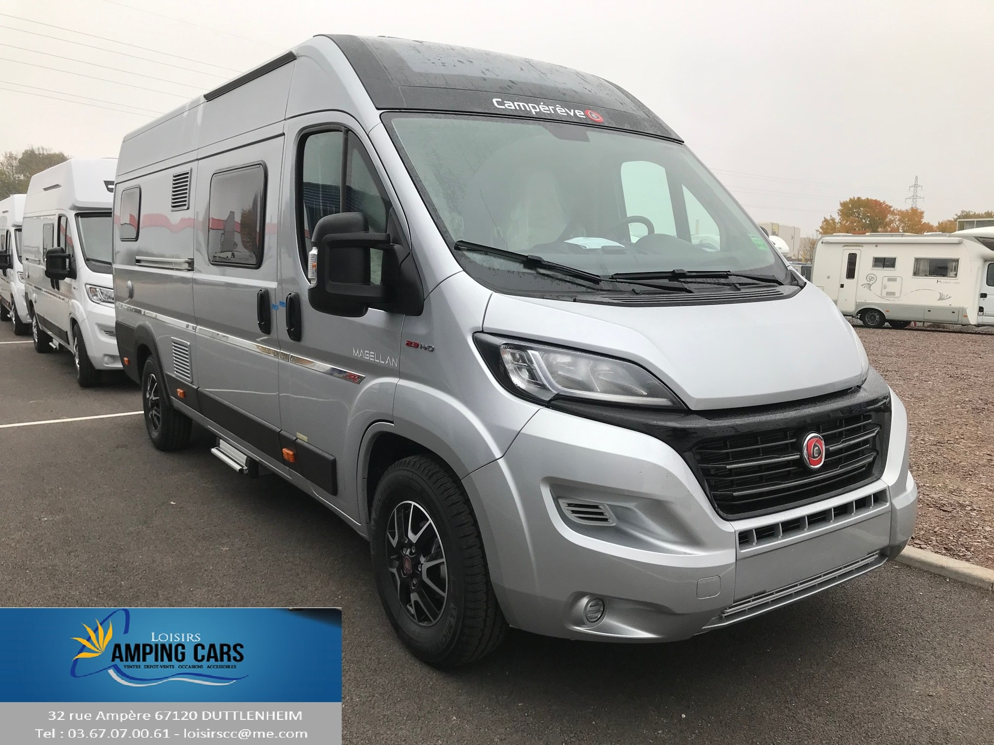 Camping-car CAMPEREVE MAGELLAN 742 LIMITED