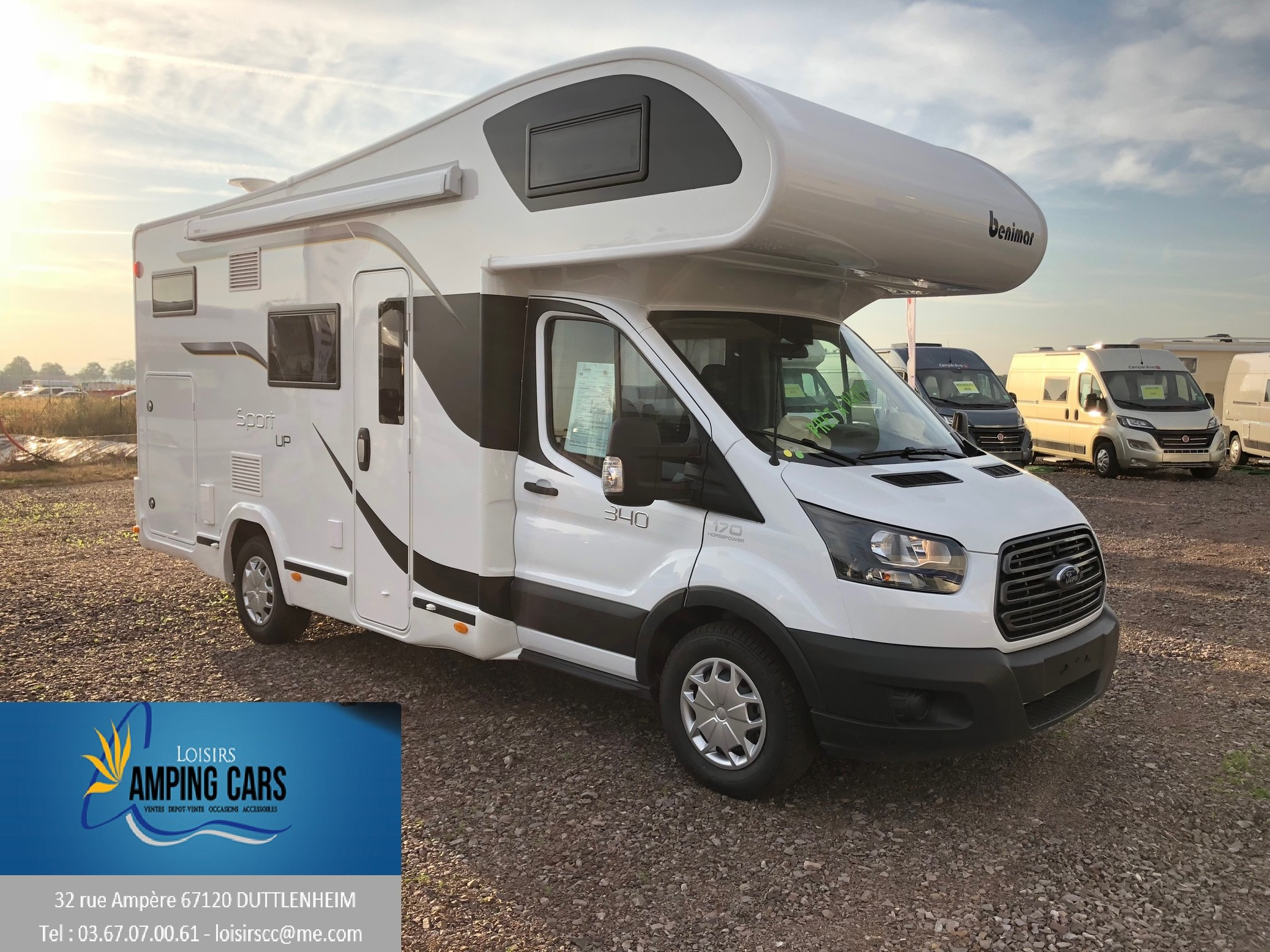 Camping-car BENIMAR SPORT 340UP