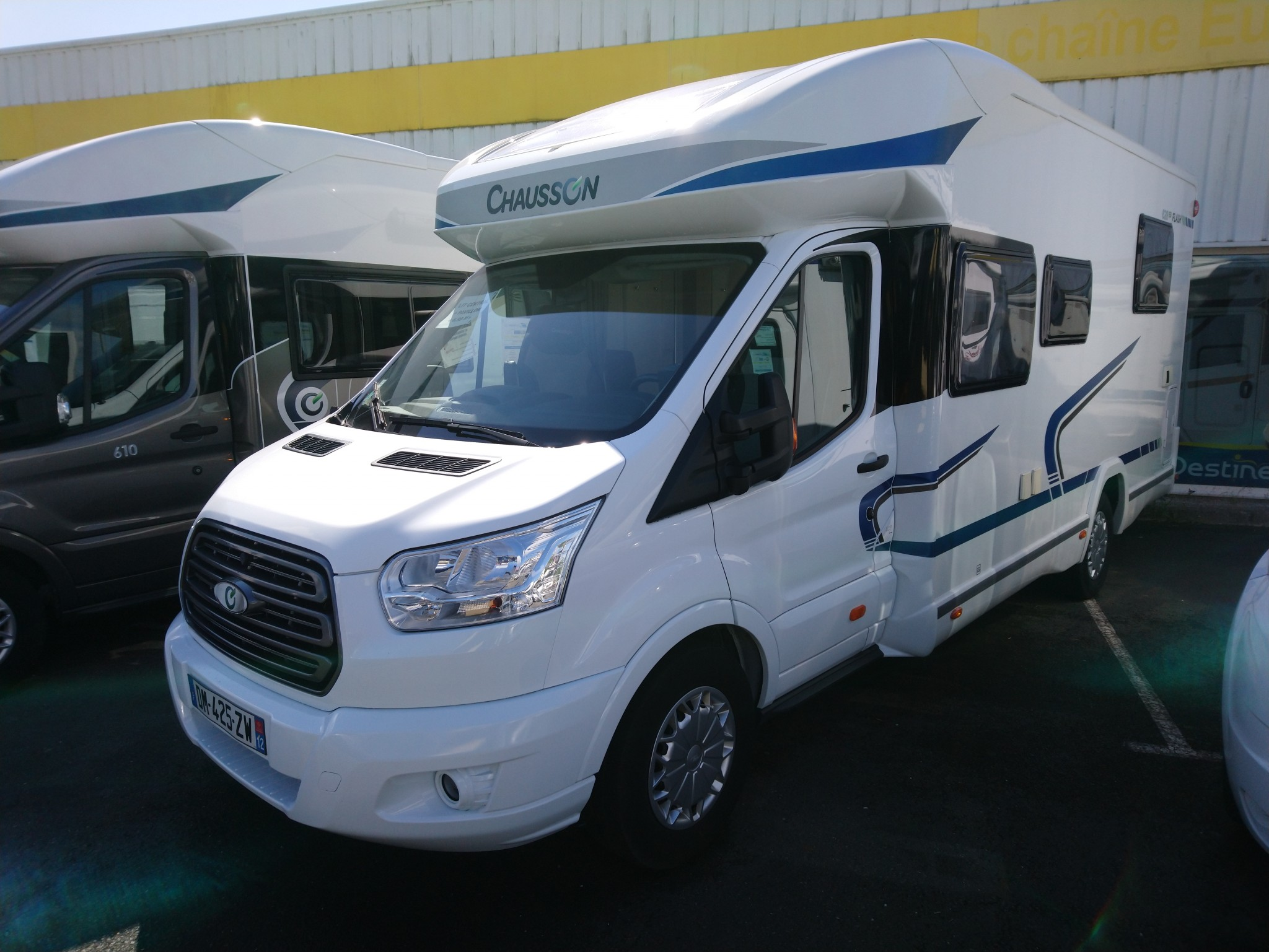 Camping-car CHAUSSON FLASH 628