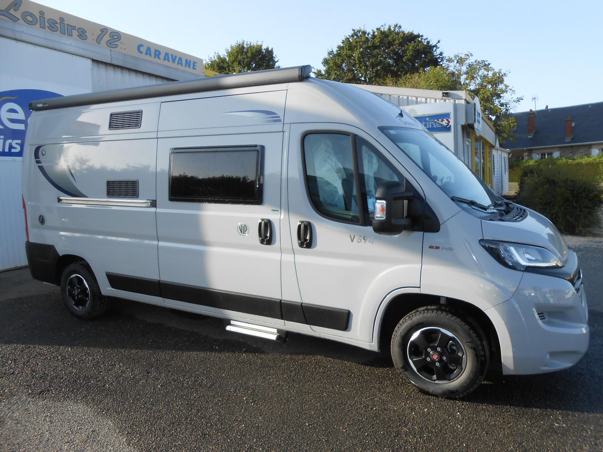 Camping-car CHAUSSON 594 TWIST