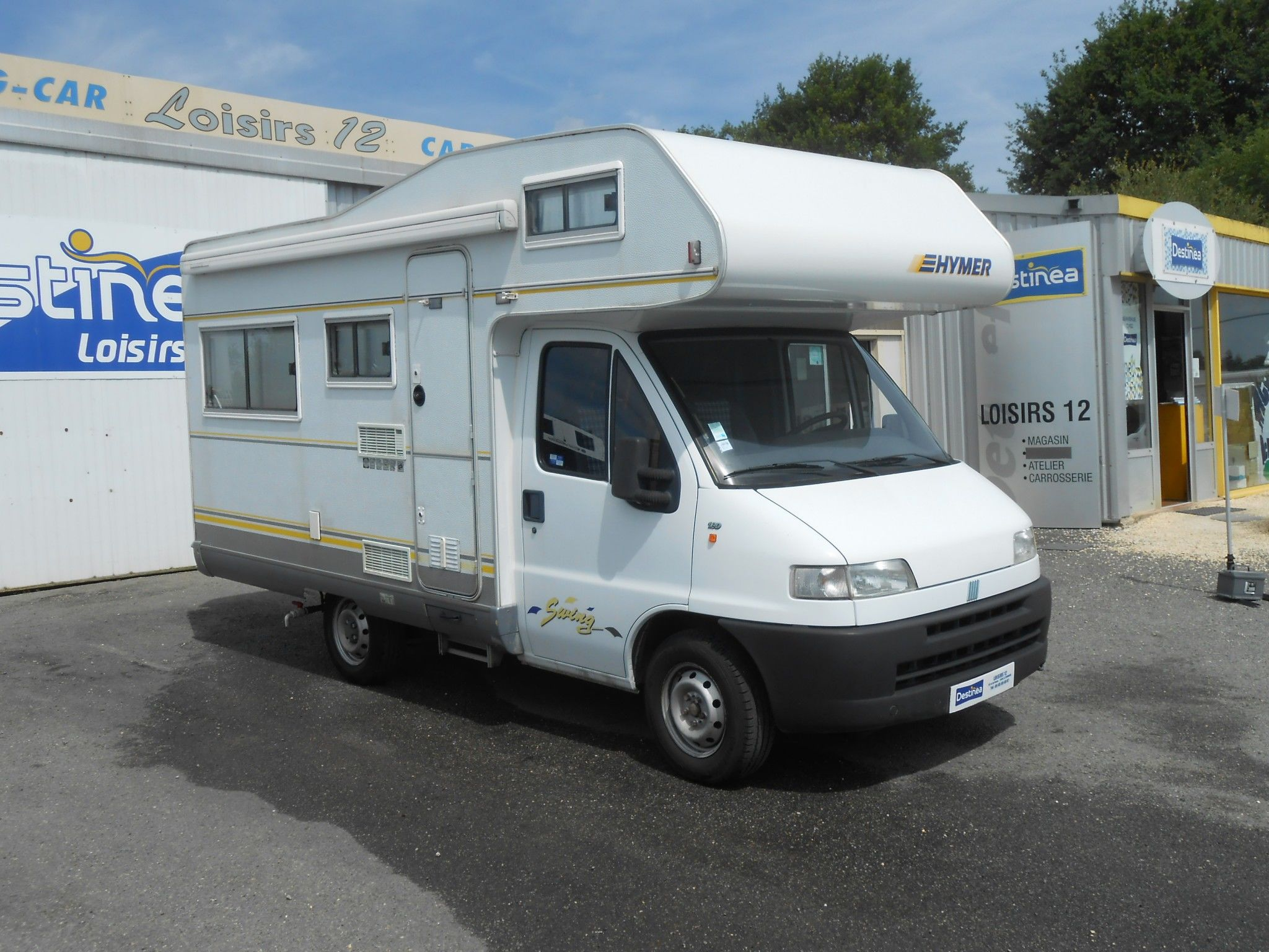 Camping-car HYMER SWING