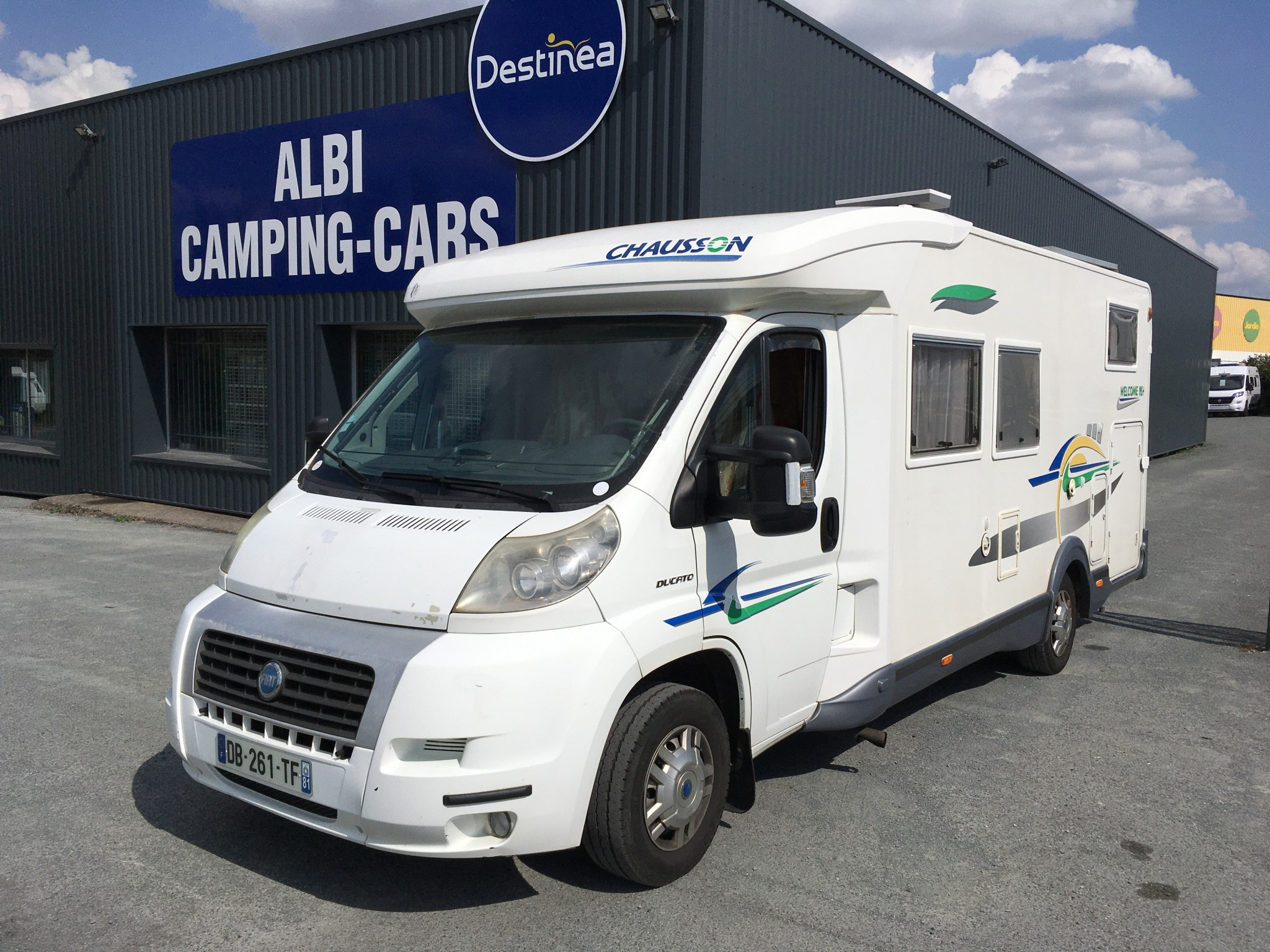 Camping-car CHAUSSON WELCOME 95