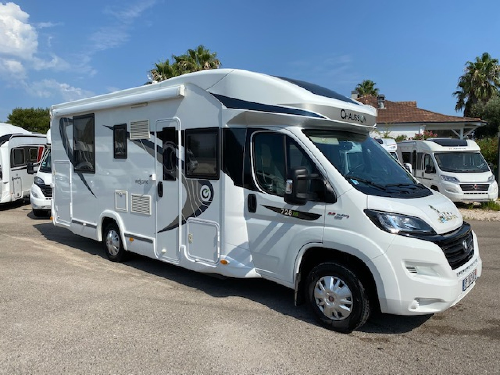 Camping-car CHAUSSON WELCOME 728 EB