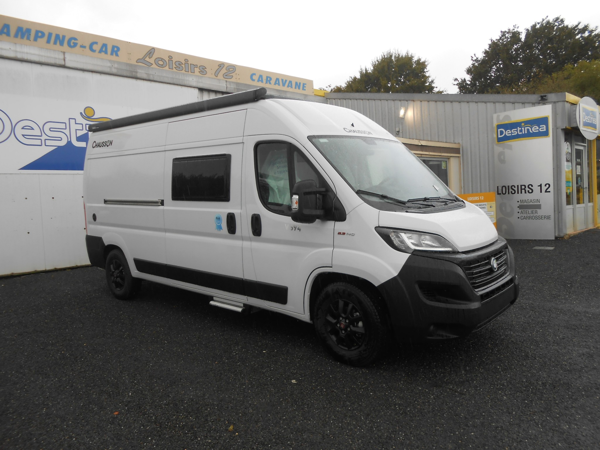 Camping-car CHAUSSON V594 FIRST LINE
