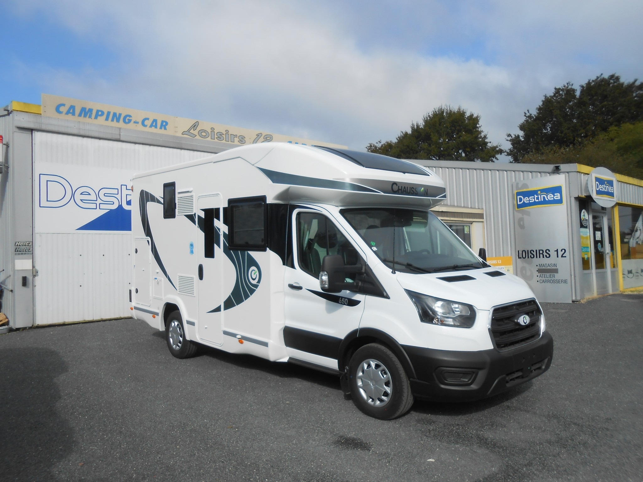 Camping-car CHAUSSON 650 FIRST LINE