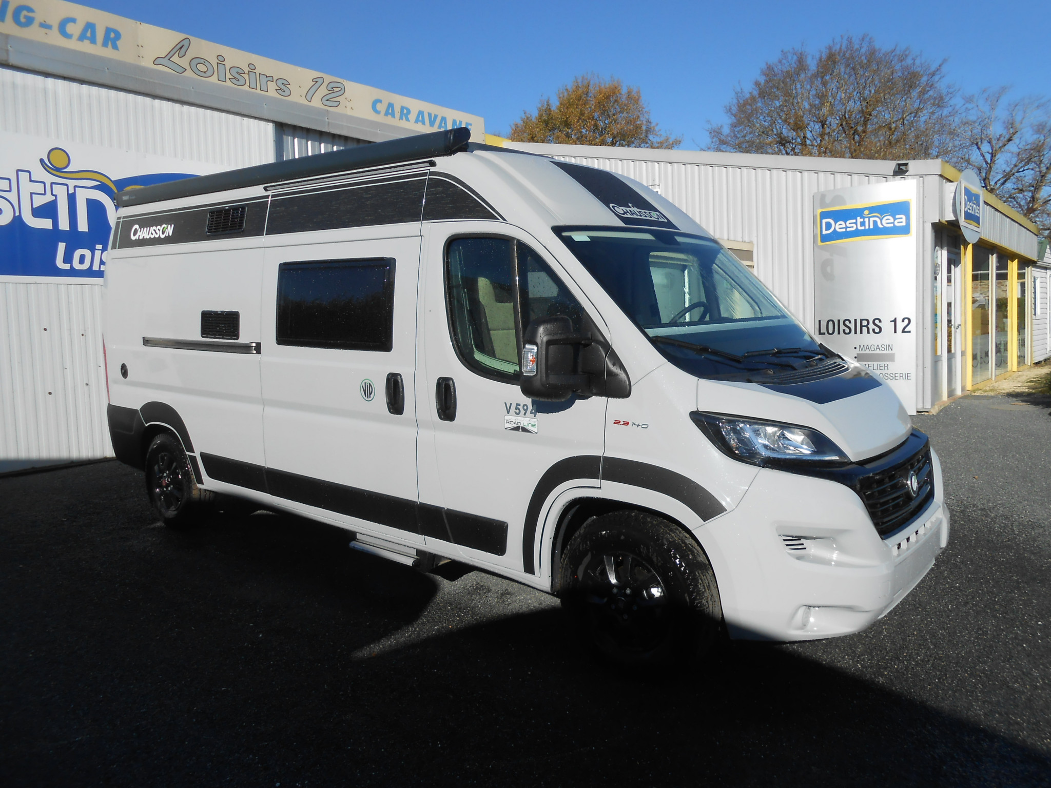 Camping-car CHAUSSON V 594 ROAD LINE