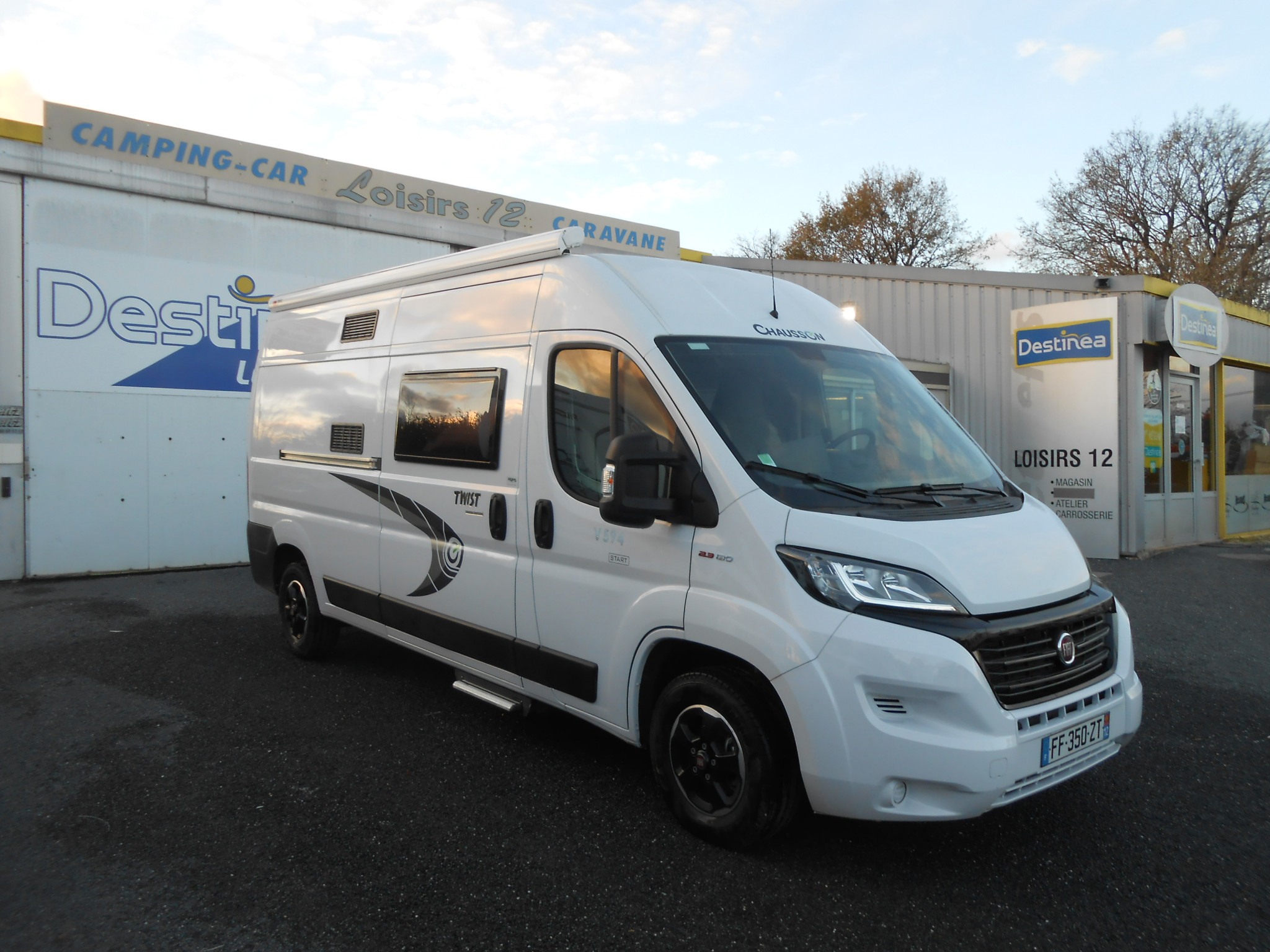 Camping-car CHAUSSON V 594 SPECIAL EDITION