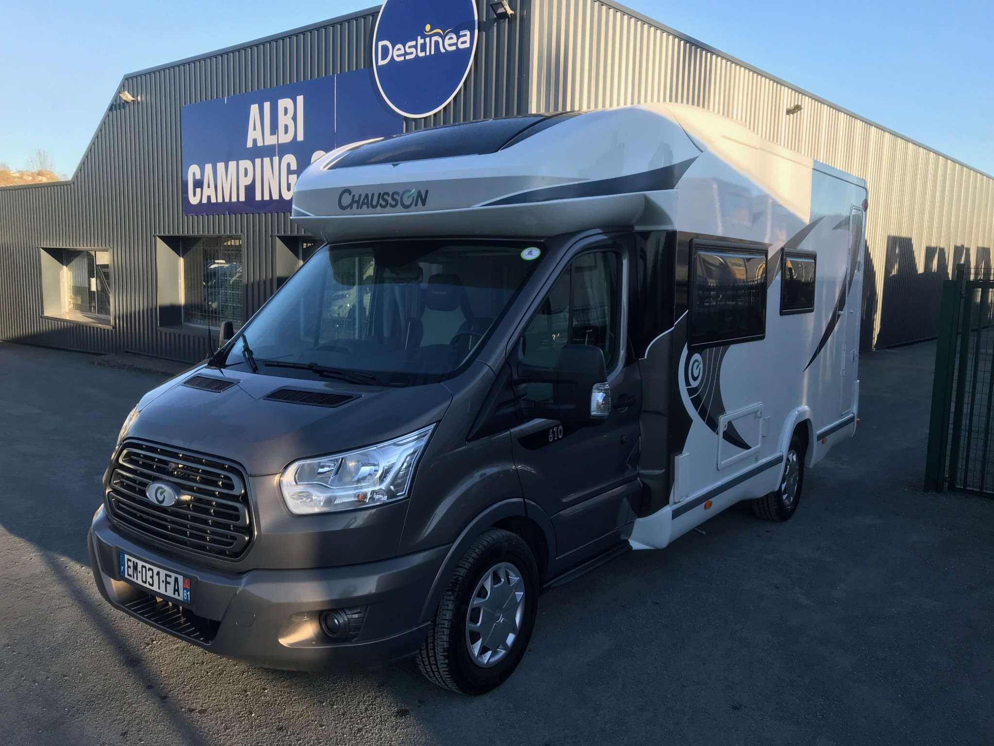 Camping-car CHAUSSON 610 LIMITED EDITION