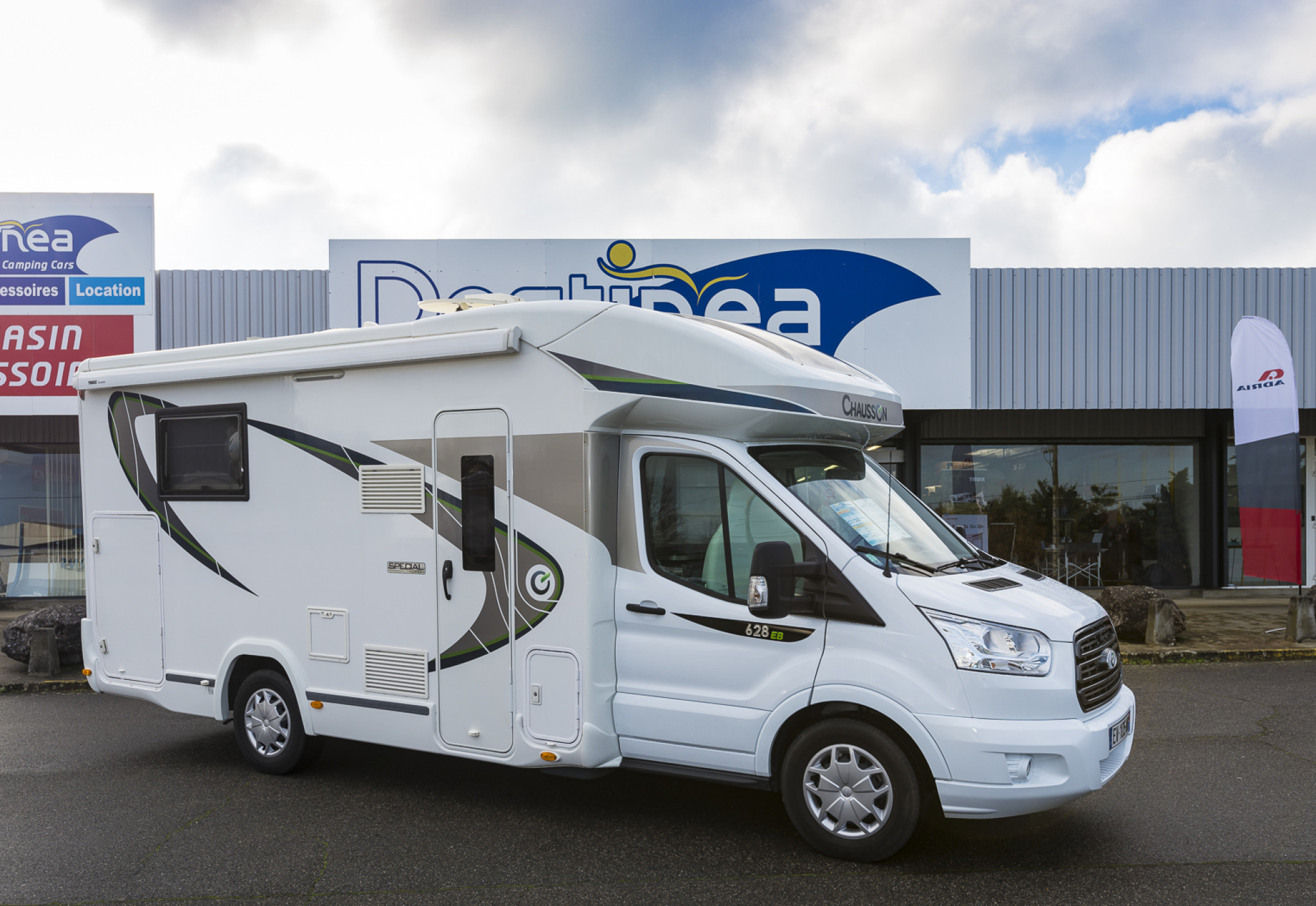 Camping-car CHAUSSON 628 SPECIAL EDITION