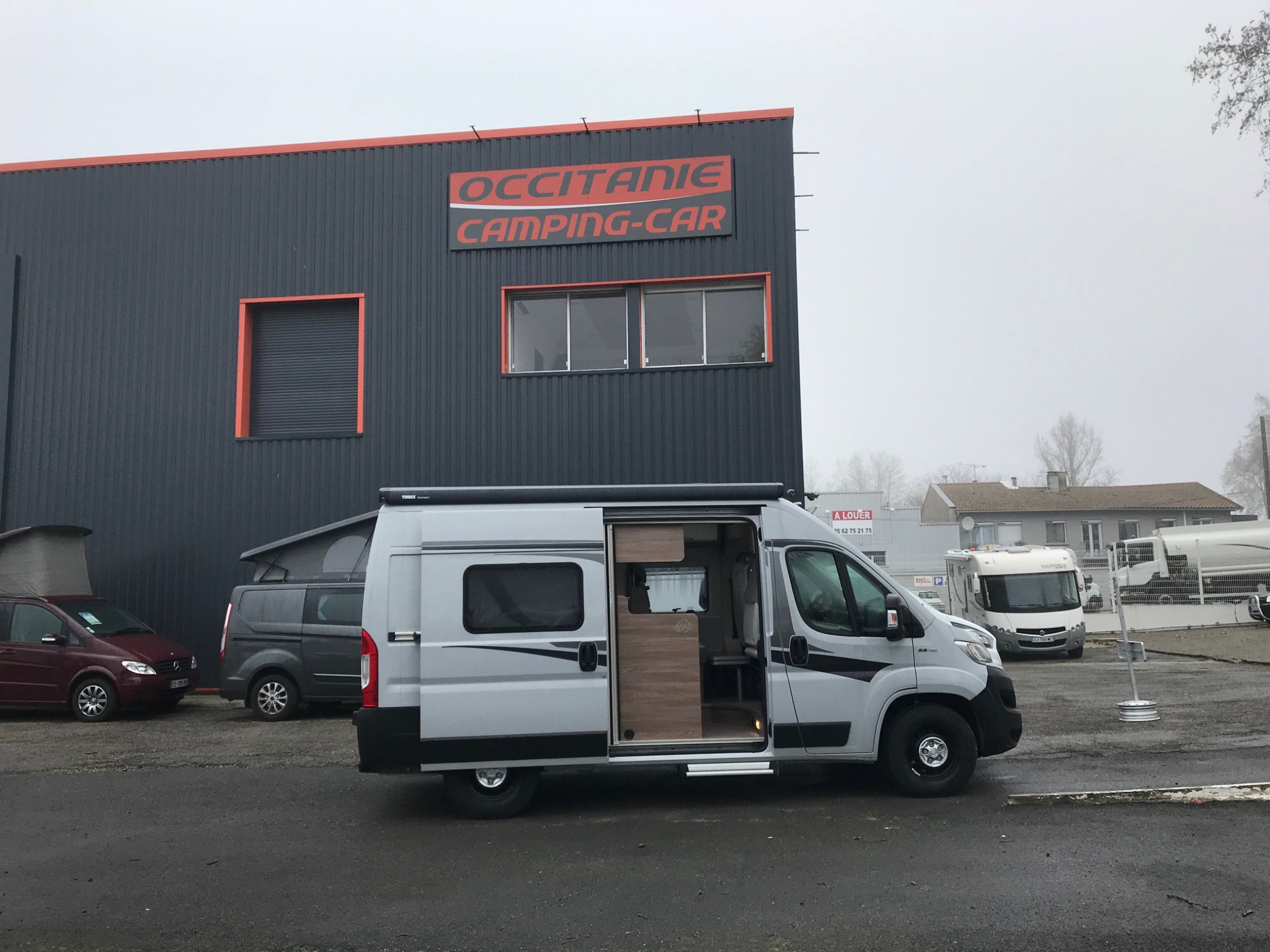 Camping-car KNAUS BOX LIFE 540 MQ