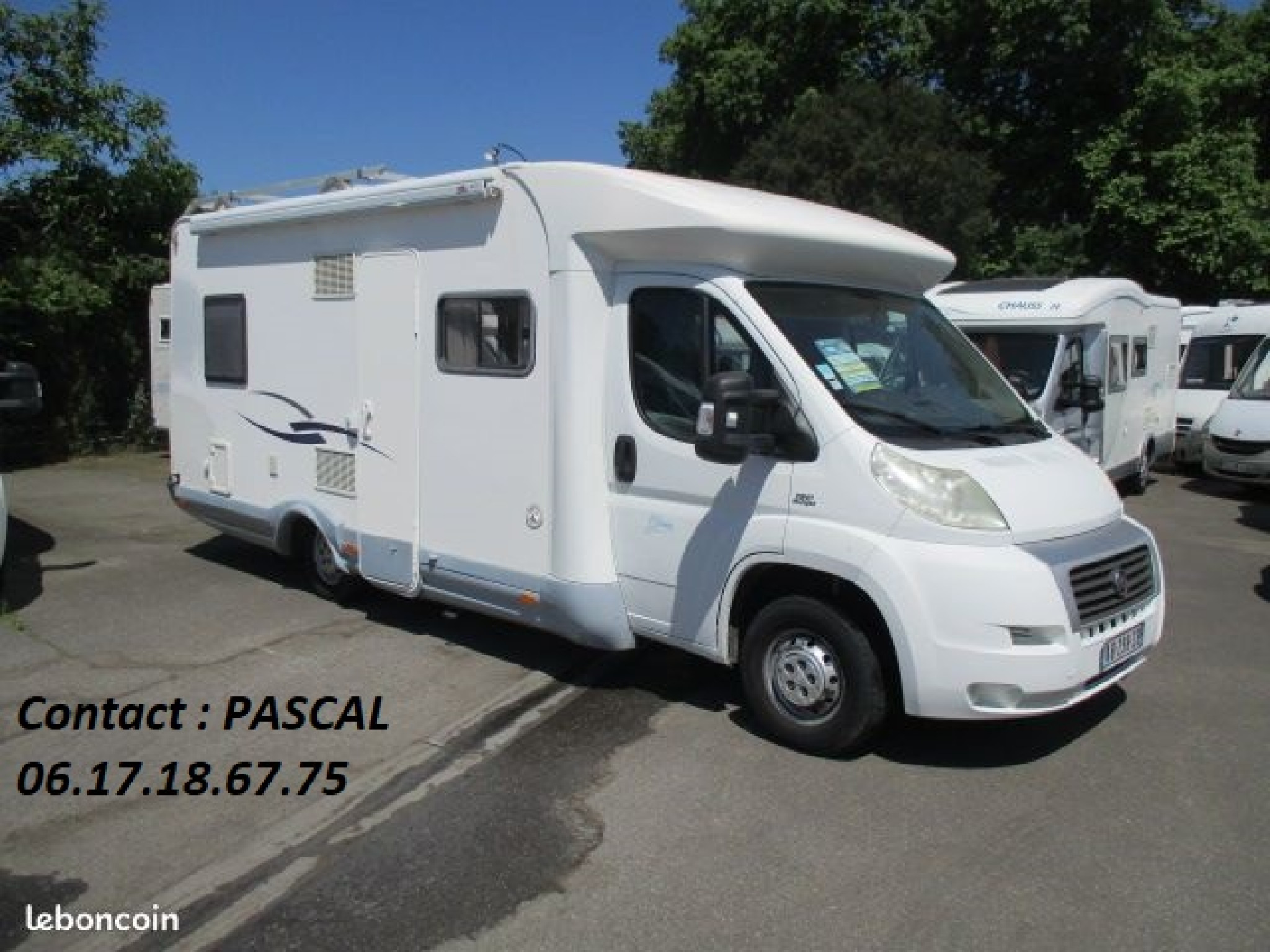 Camping-car SEA SEA BLUE CAMP - LIT FRANCAISE - 40 292 kms - CLIM