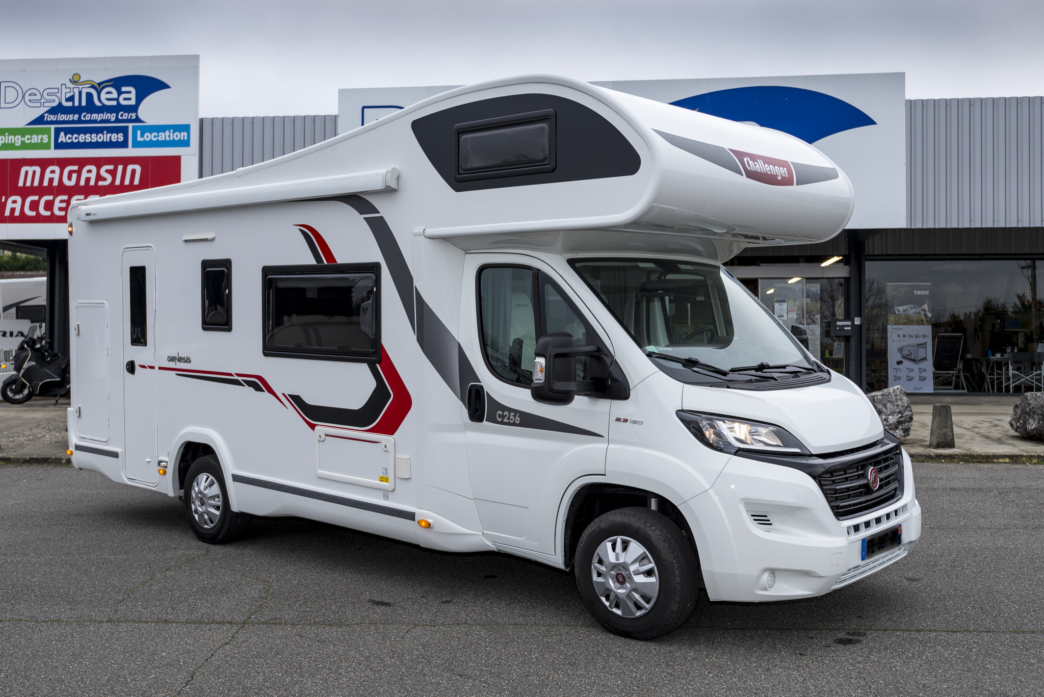 Camping-car CHAUSSON C256