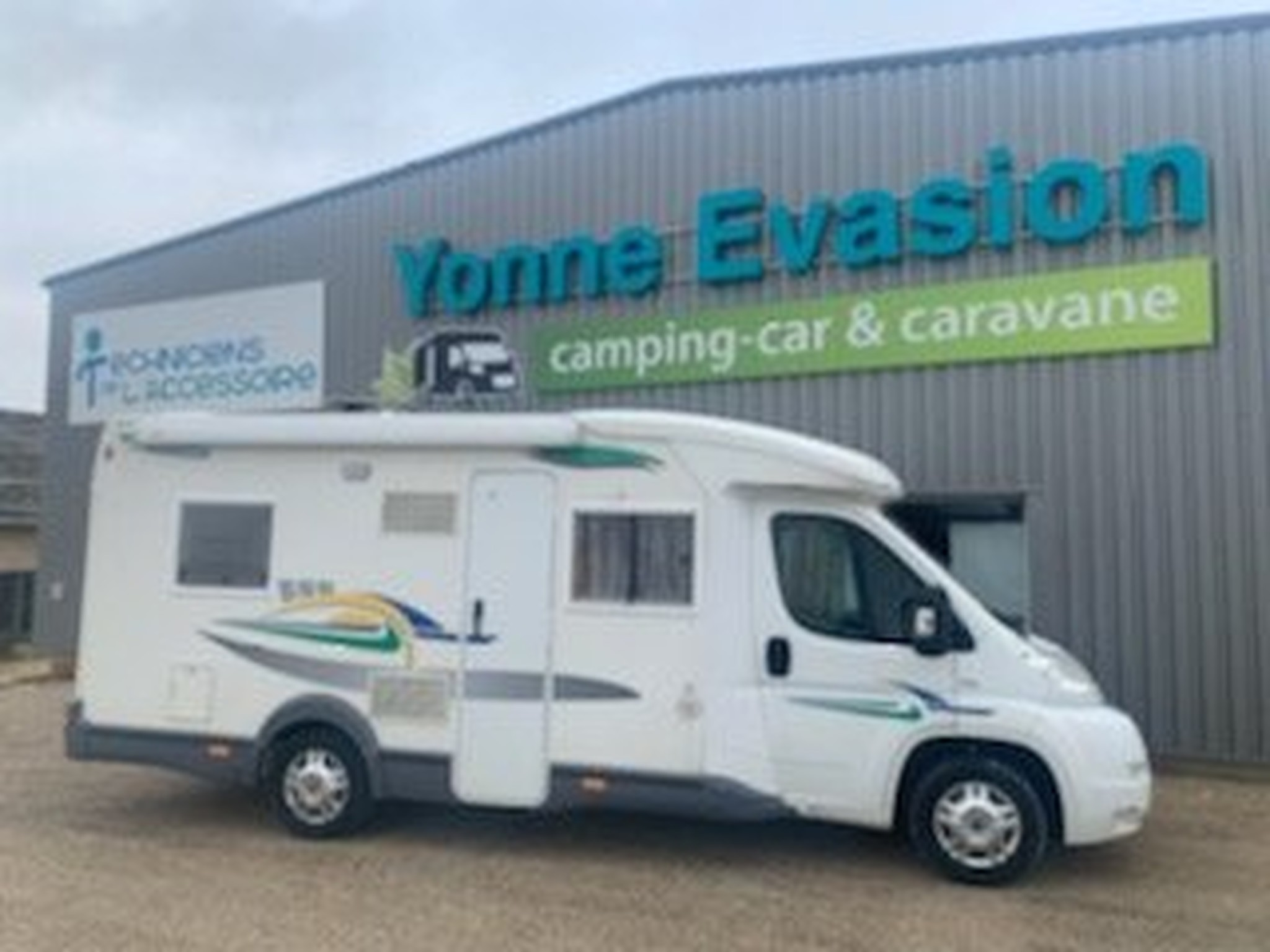 Camping-car CHAUSSON Welcom 74