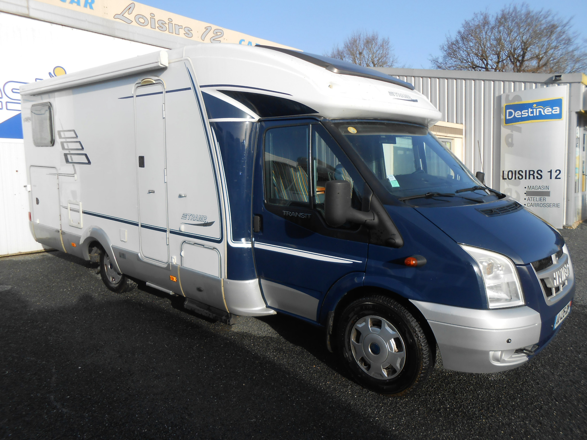 Camping-car HYMER TRAMP T 612CL