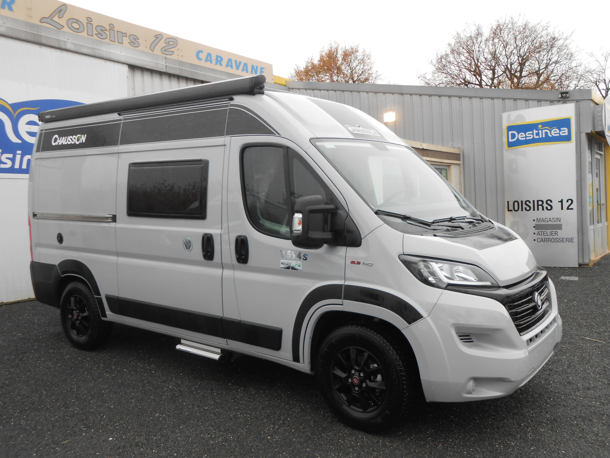 Camping-car CHAUSSON V 594 S ROAD LINE